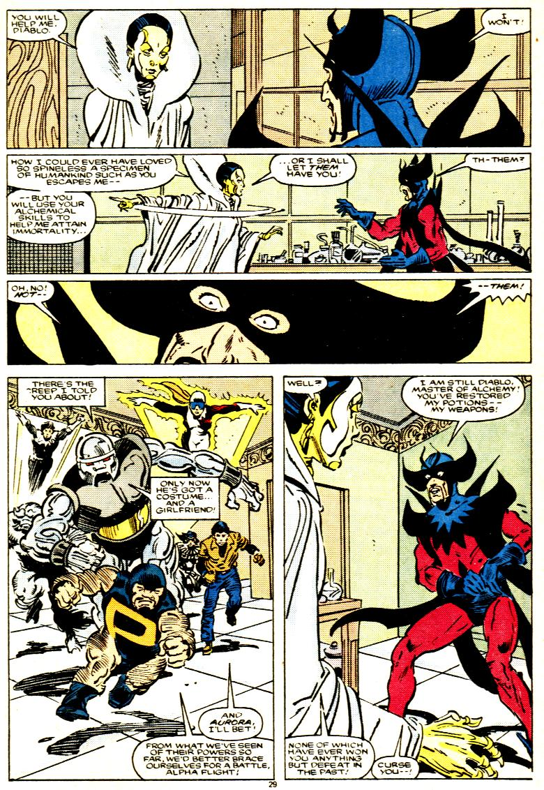 Read online Alpha Flight (1983) comic -  Issue # _Annual 1 - 30