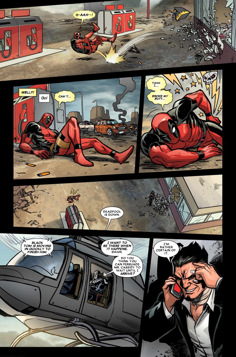 Read online Deadpool (2008) comic -  Issue #59 - 18