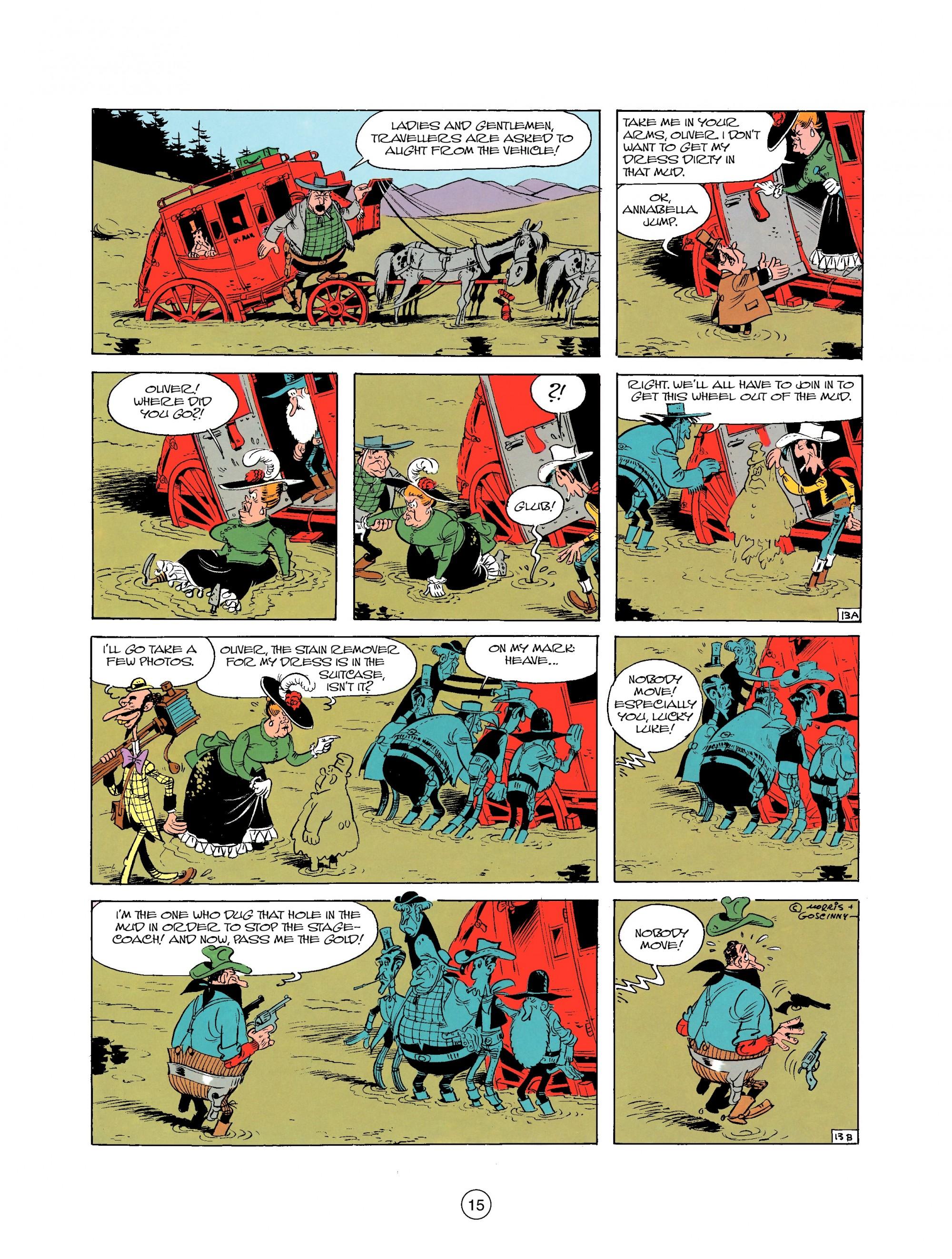 Read online A Lucky Luke Adventure comic -  Issue #25 - 15