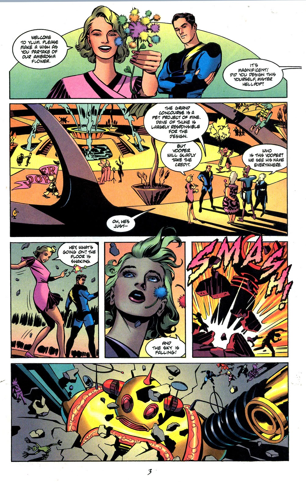 Read online Nexus Meets Madman comic -  Issue # Full - 5