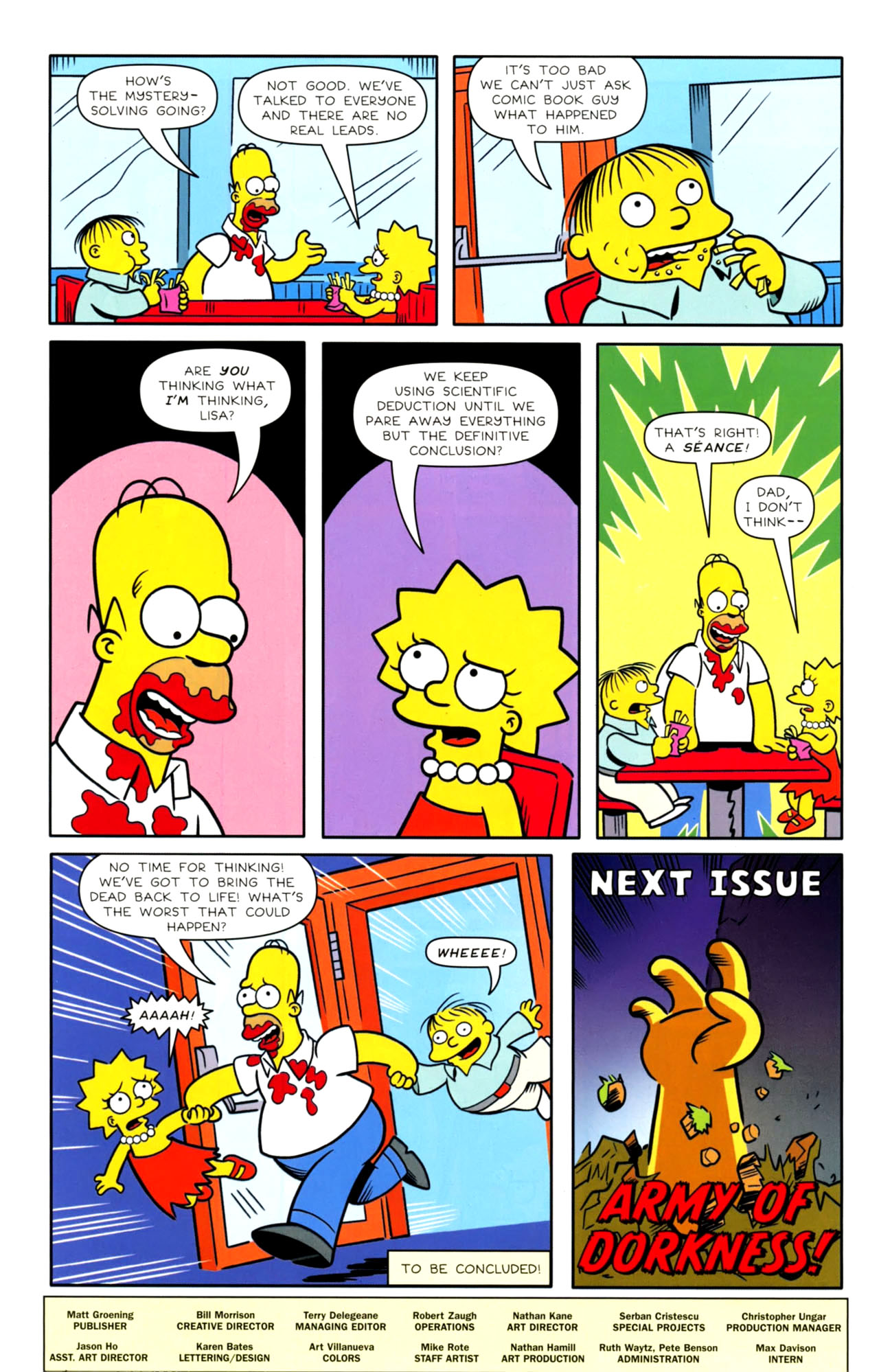Read online Bongo Comics presents Comic Book Guy: The Comic Book comic -  Issue #4 - 32
