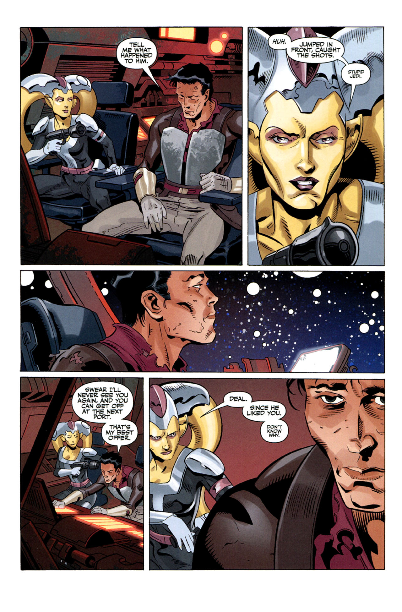 Read online Star Wars: The Old Republic - The Lost Suns comic -  Issue #5 - 18