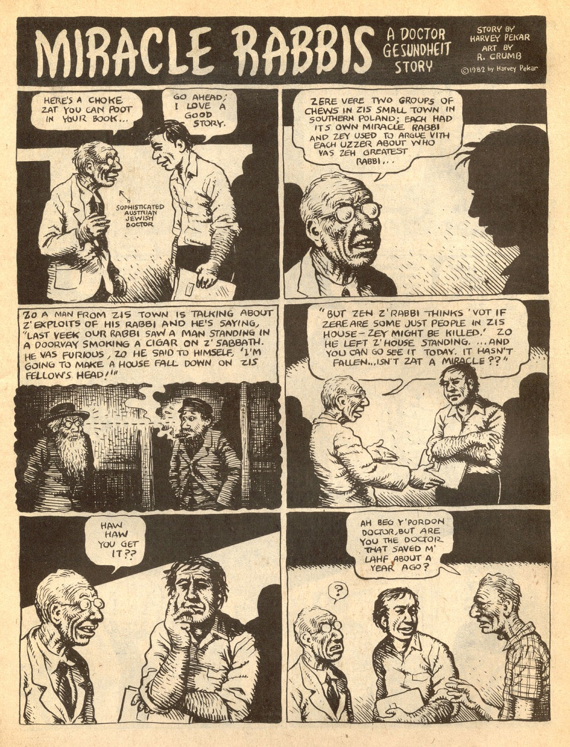 American Splendor (1976) issue 7 - Page 4