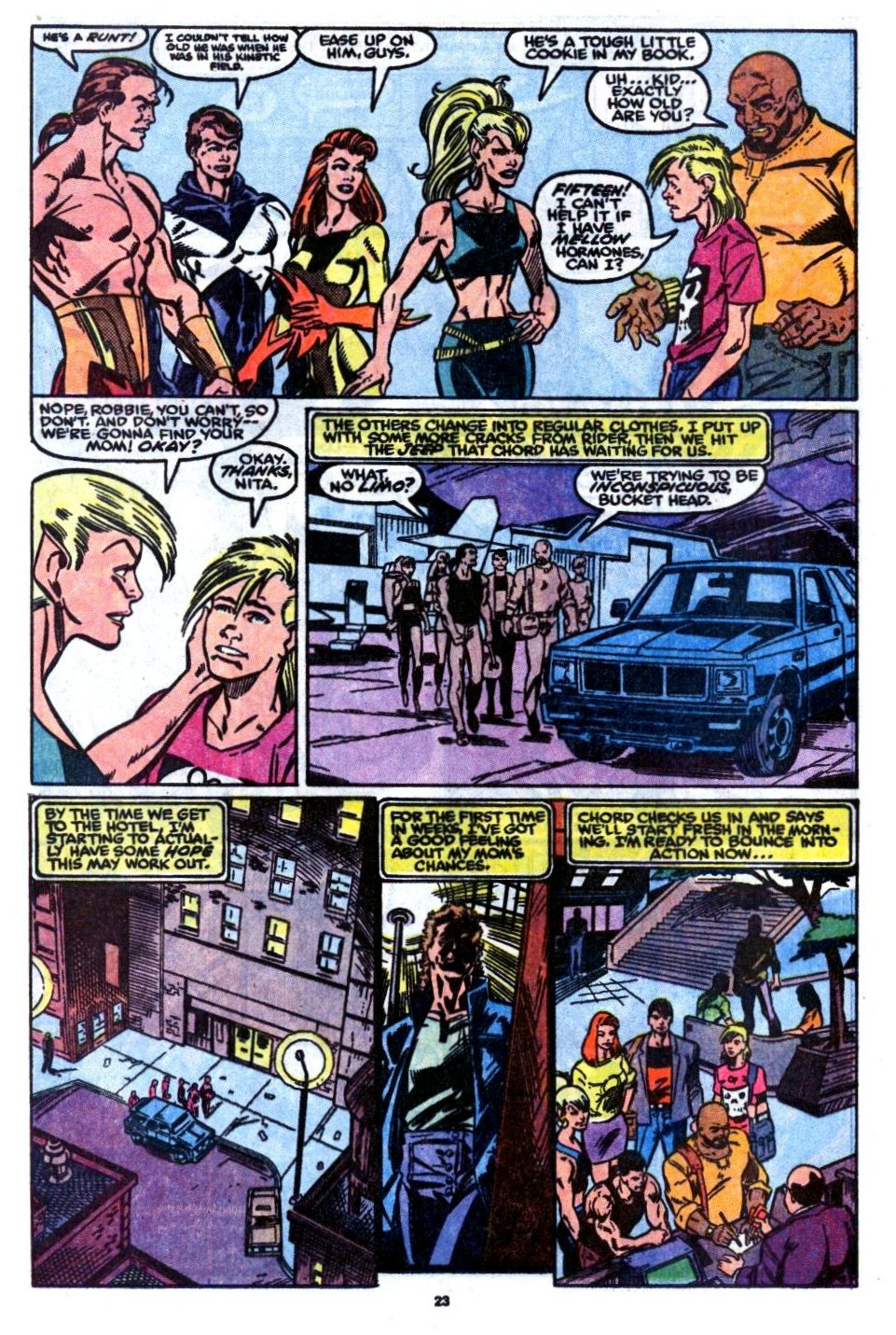 The New Warriors Issue #7 #11 - English 17
