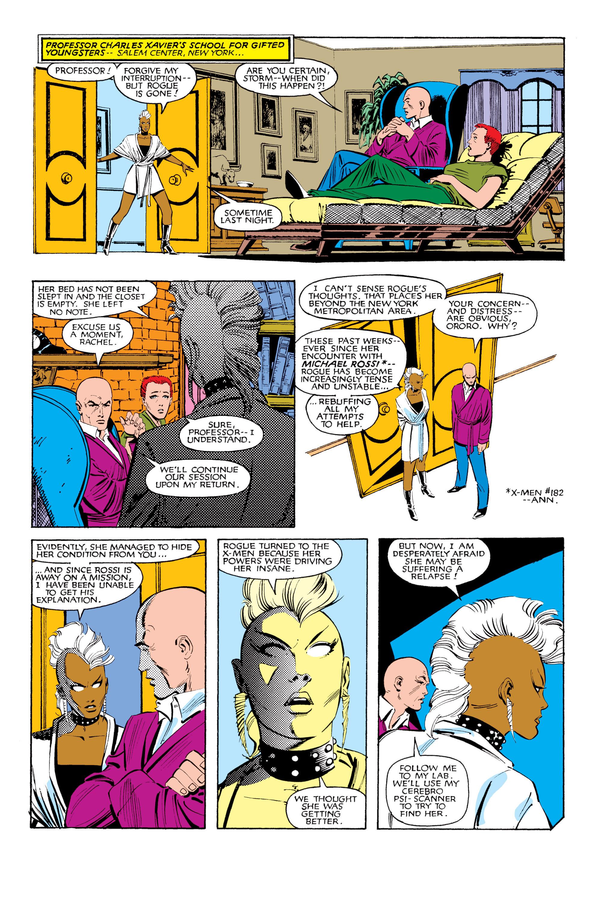 Read online Uncanny X-Men (1963) comic -  Issue #185 - 5