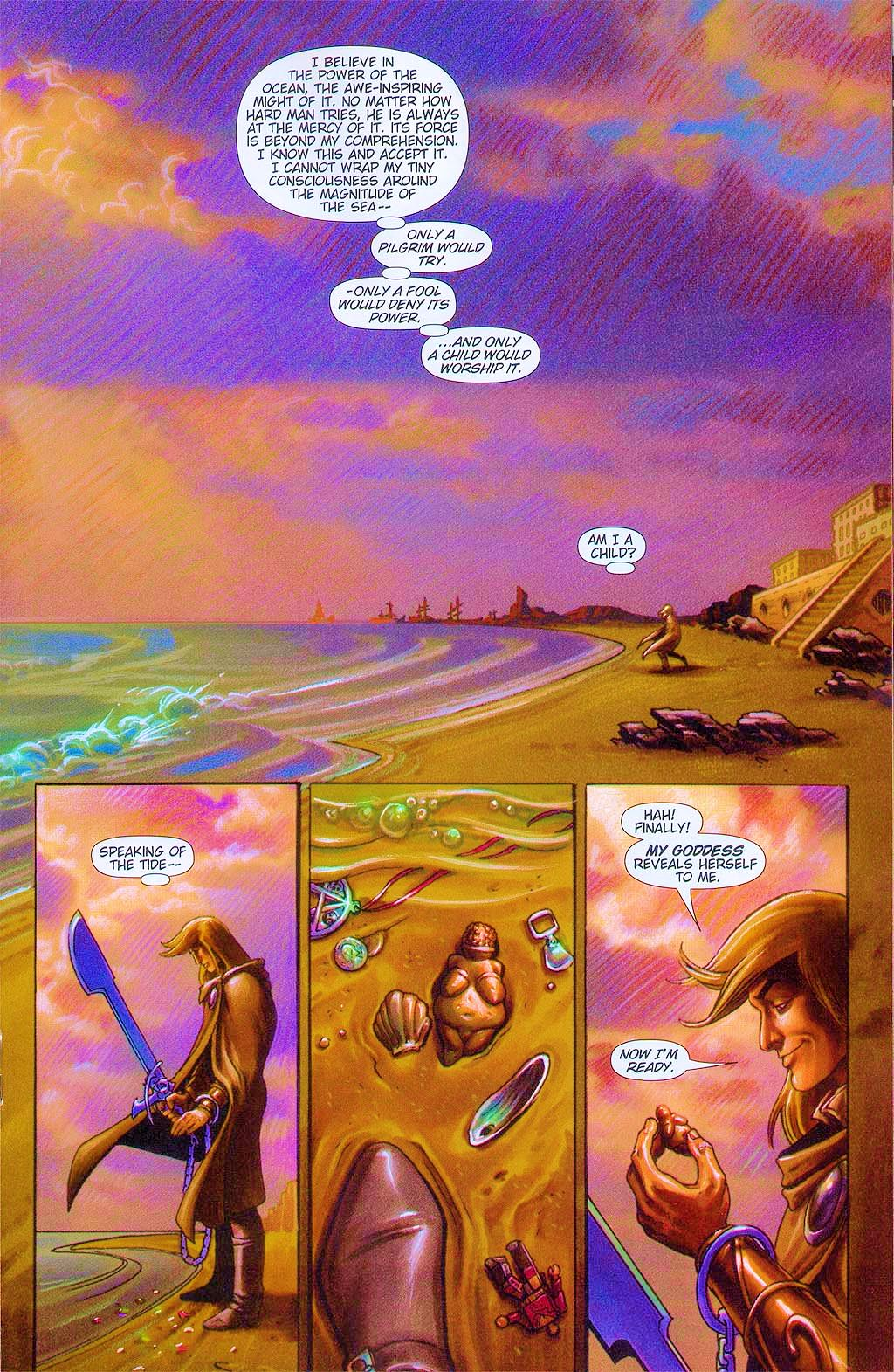 Read online Dawn: Three Tiers comic -  Issue #6 - 20