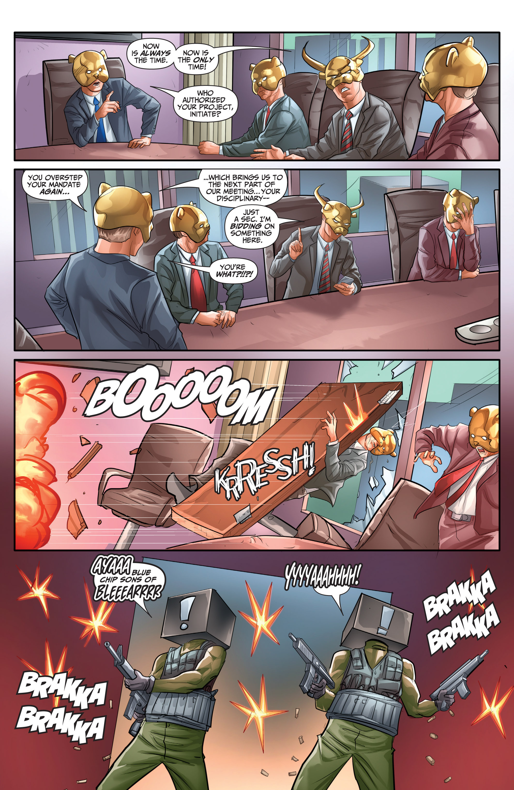 Read online Archer and Armstrong comic -  Issue #Archer and Armstrong _TPB 7 - 58