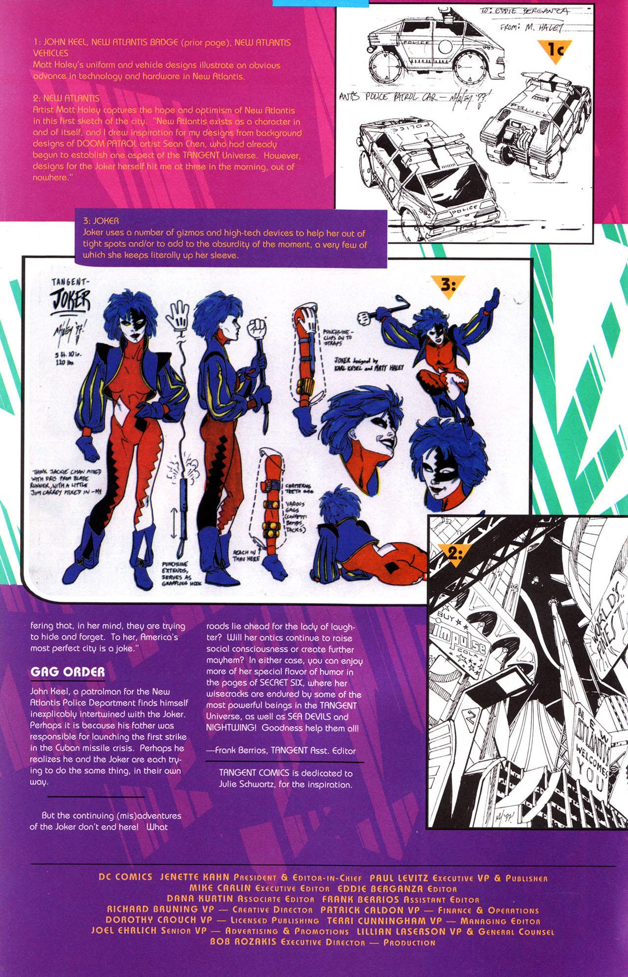 Read online Tangent Comics/ The Joker comic -  Issue # Full - 41