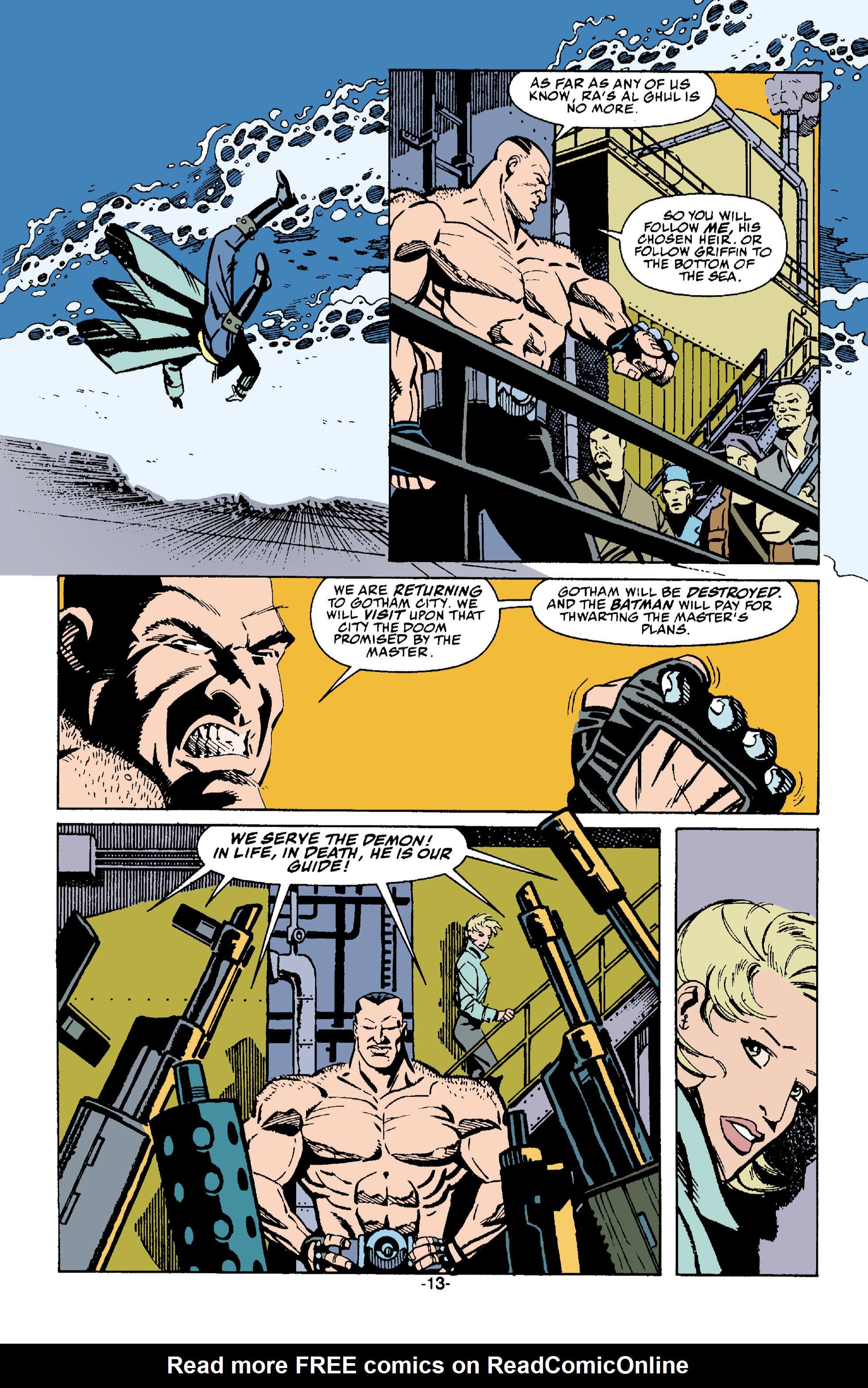 Read online Batman: Bane comic -  Issue # Full - 14