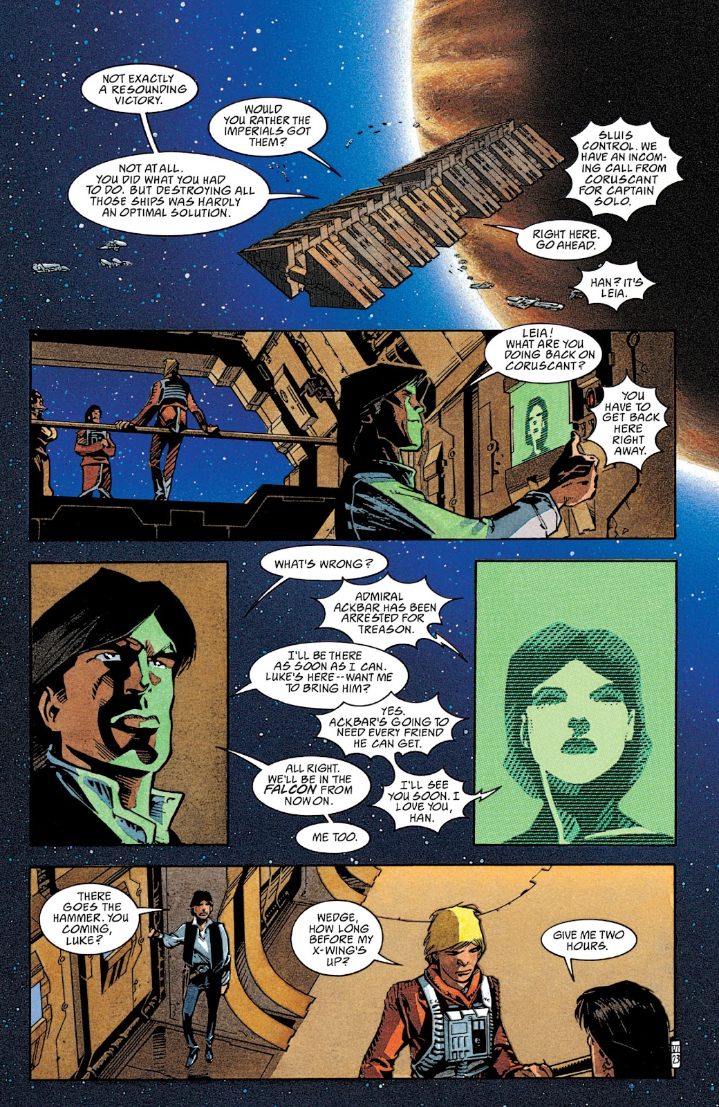 Read online Star Wars Legends: The New Republic - Epic Collection comic -  Issue # TPB 4 (Part 2) - 46