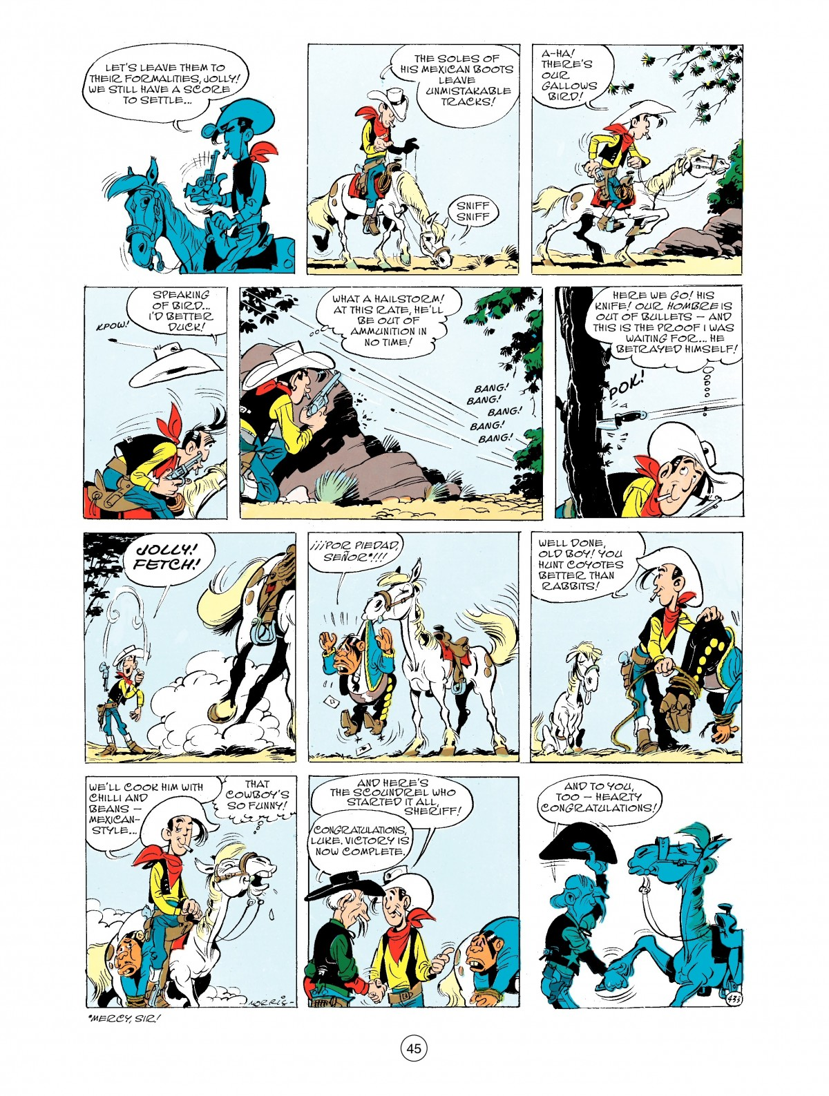 Read online A Lucky Luke Adventure comic -  Issue #43 - 45