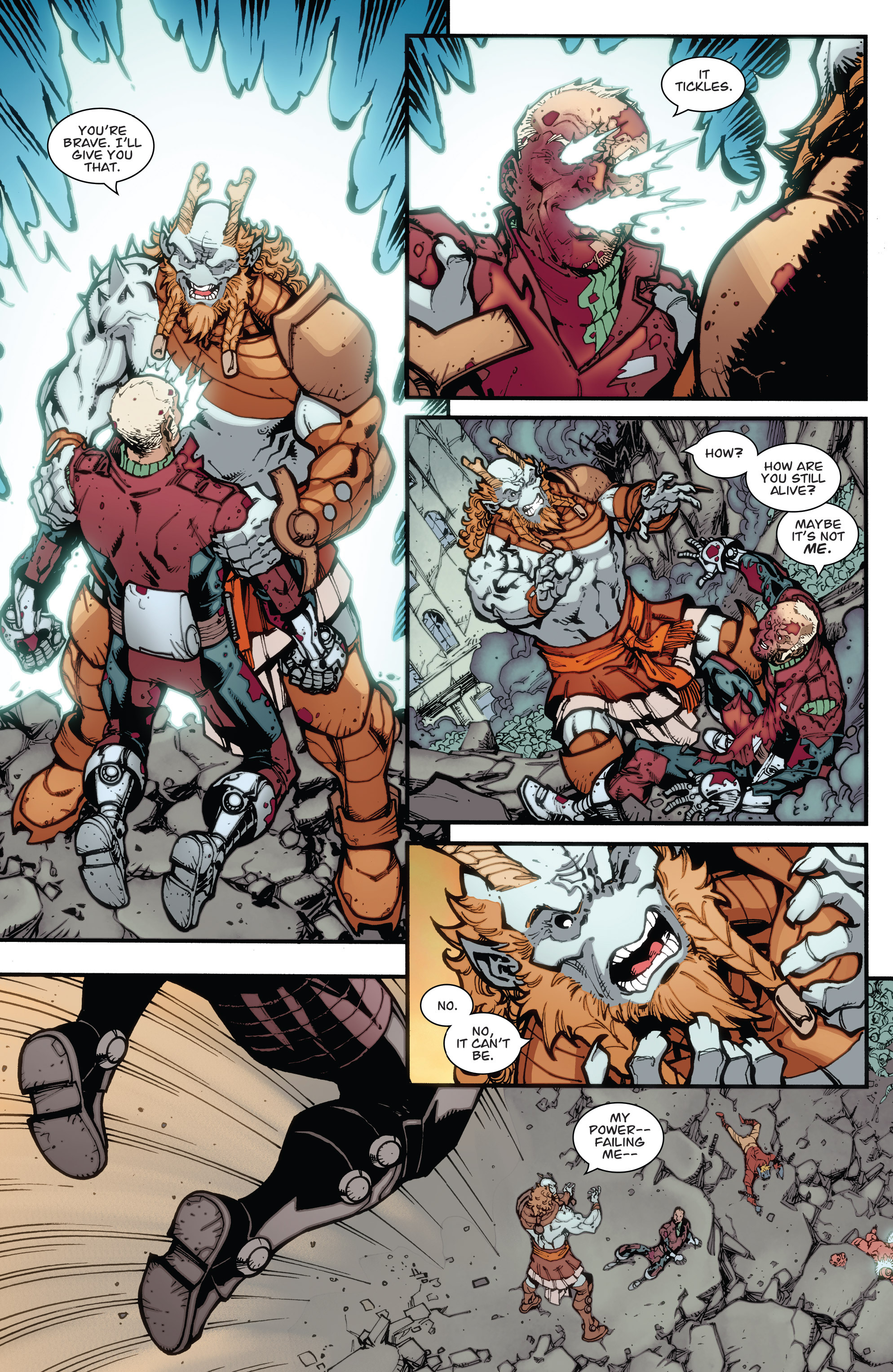 Read online Guarding the Globe (2012) comic -  Issue #6 - 19