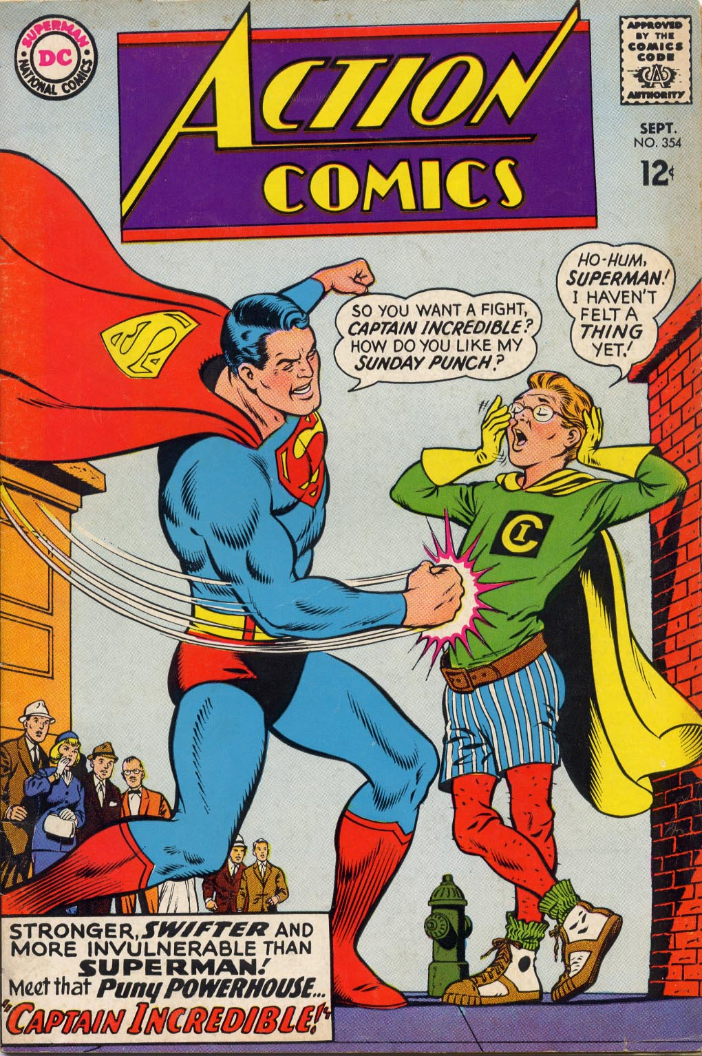 Read online Action Comics (1938) comic -  Issue #354 - 1