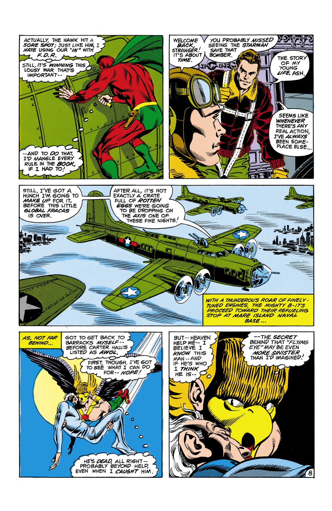 Read online All-Star Squadron comic -  Issue #10 - 9