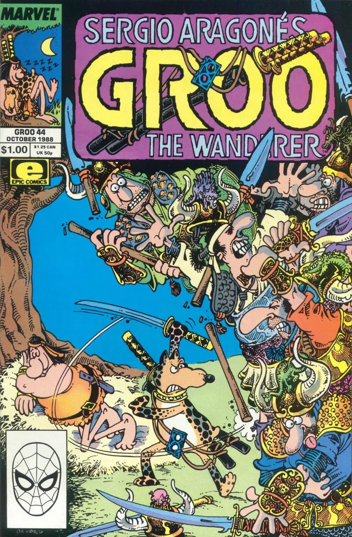 Read online Sergio Aragonés Groo the Wanderer comic -  Issue #44 - 1