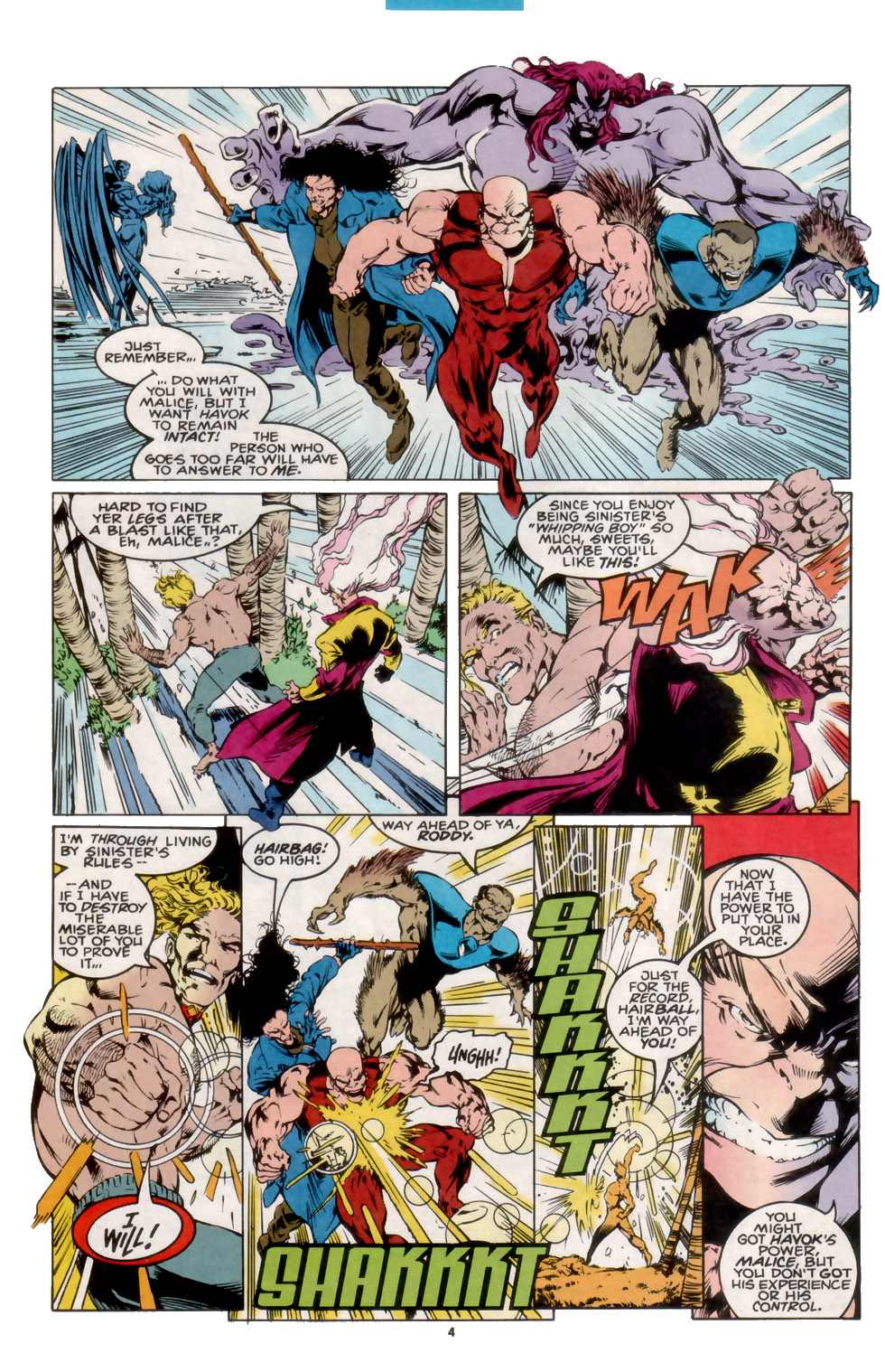 Read online X-Factor (1986) comic -  Issue #105 - 4