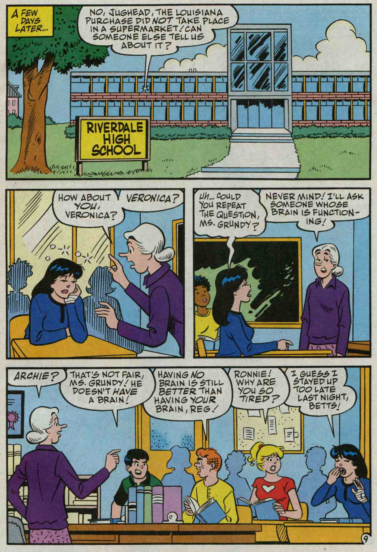 Read online Archie's Girls Betty and Veronica comic -  Issue #235 - 10