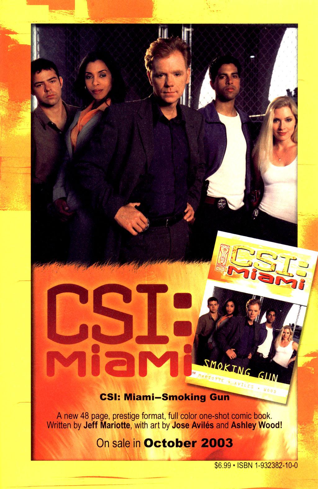 Read online CSI: Crime Scene Investigation: Bad Rap comic -  Issue #2 - 26