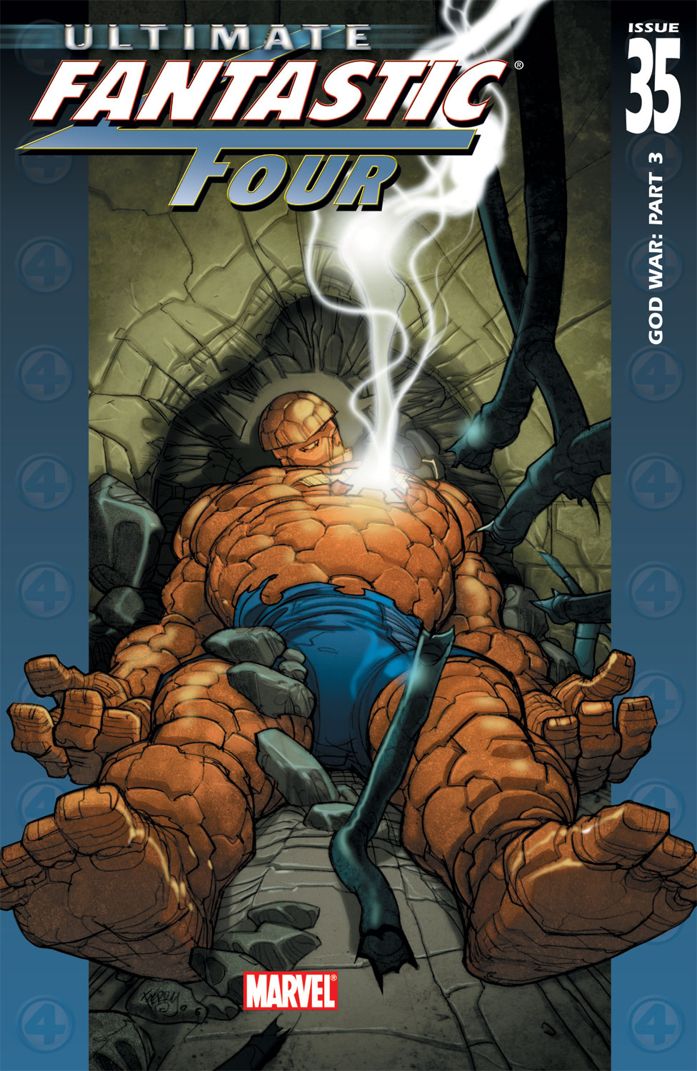 Read online Ultimate Fantastic Four (2004) comic -  Issue #35 - 1