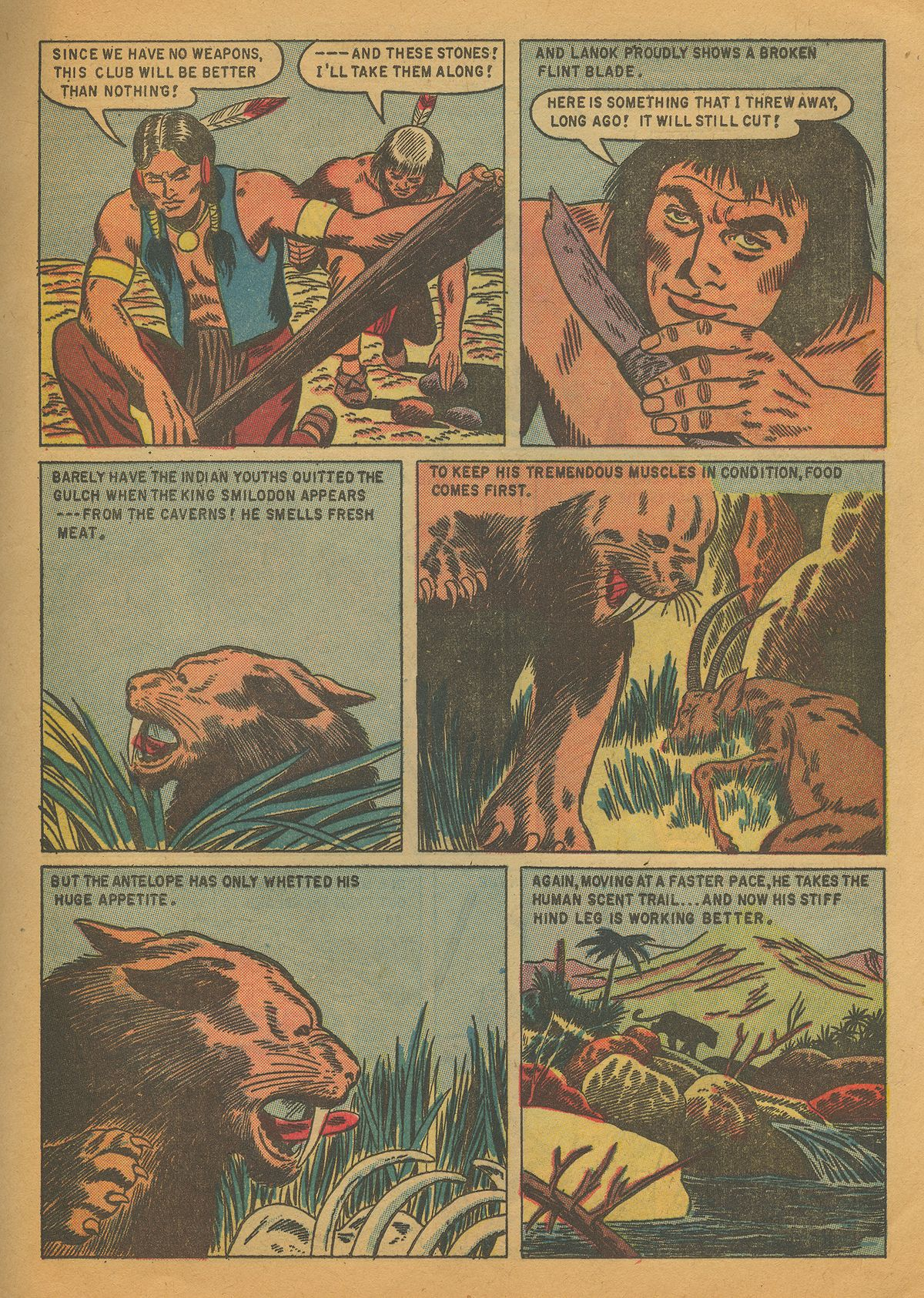 Read online Turok, Son of Stone comic -  Issue #4 - 29