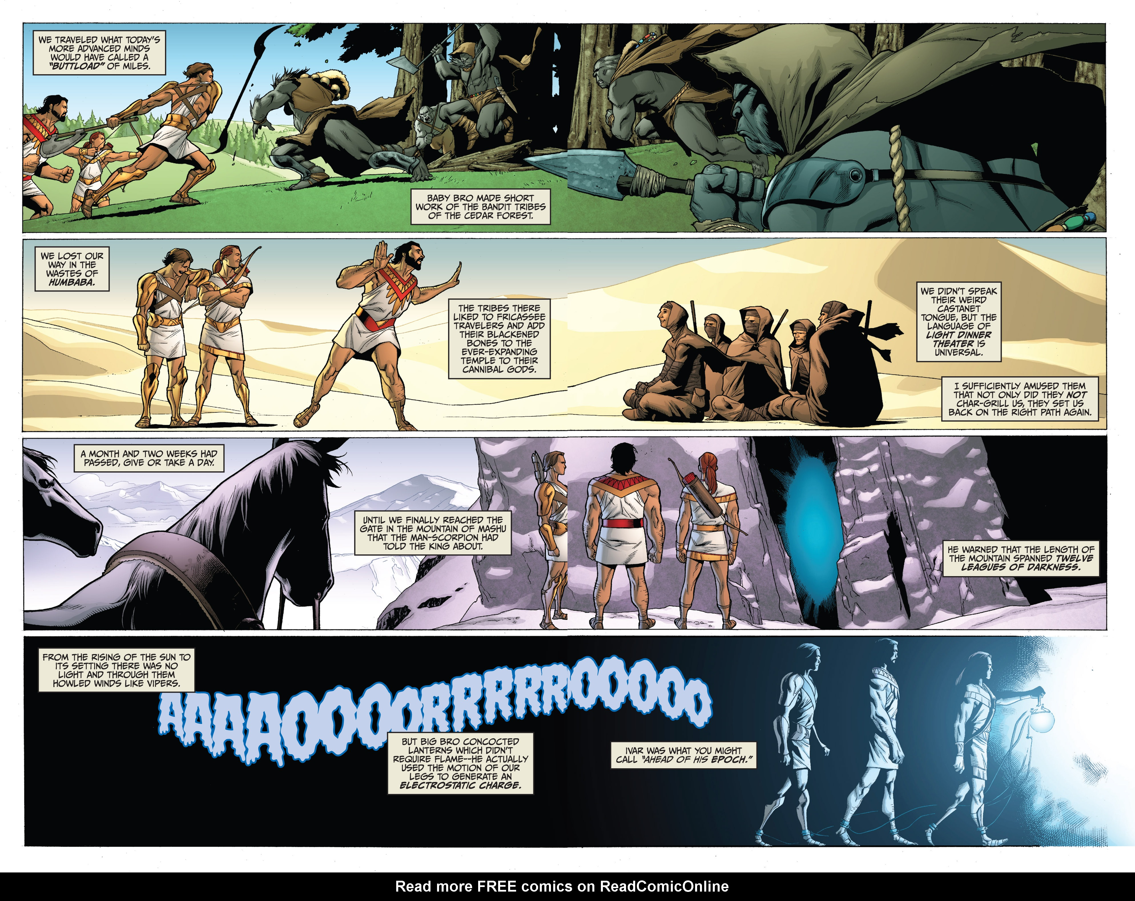 Read online Archer and Armstrong comic -  Issue #Archer and Armstrong _TPB 3 - 12