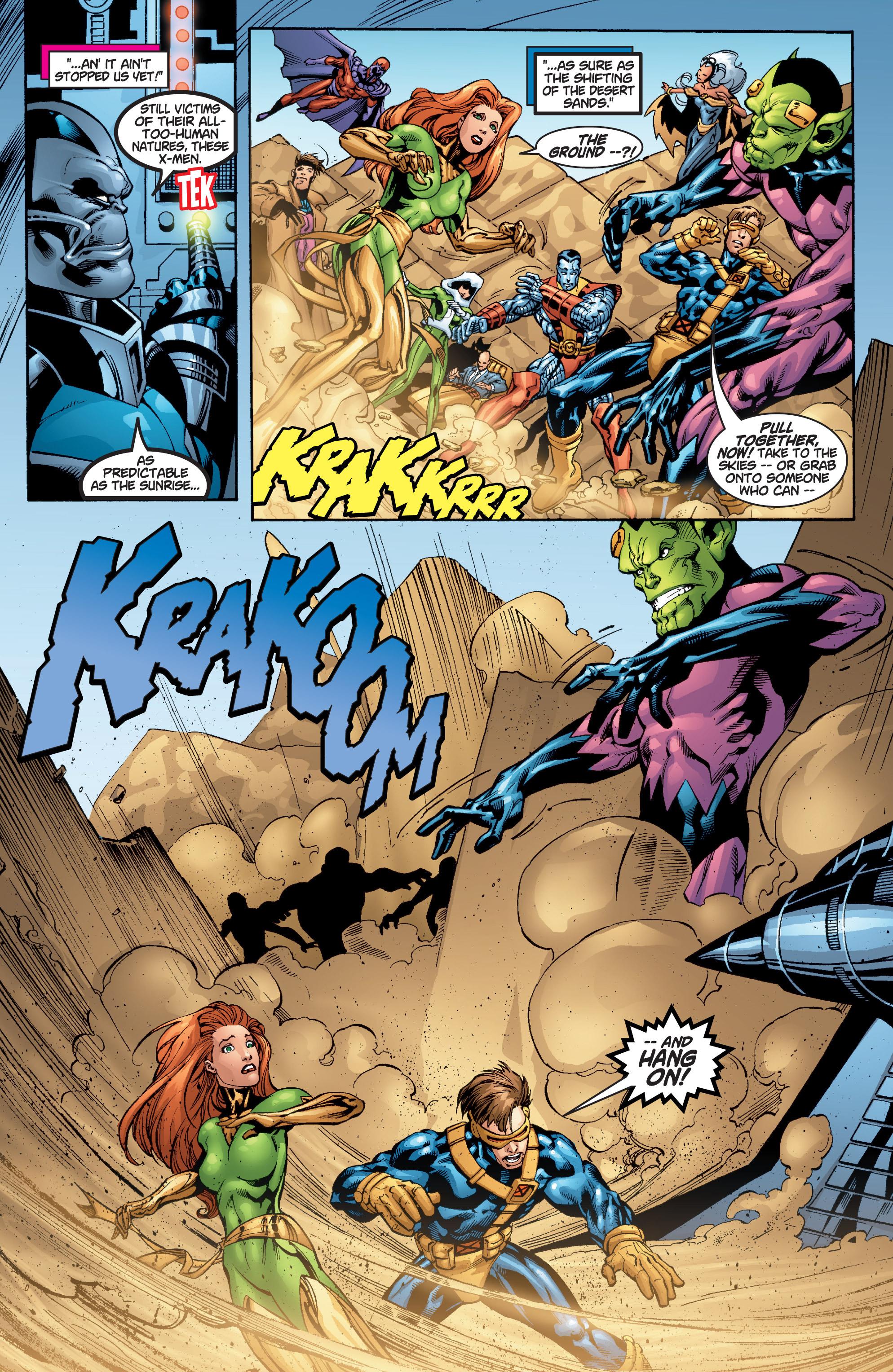 Read online Uncanny X-Men (1963) comic -  Issue #377 - 4