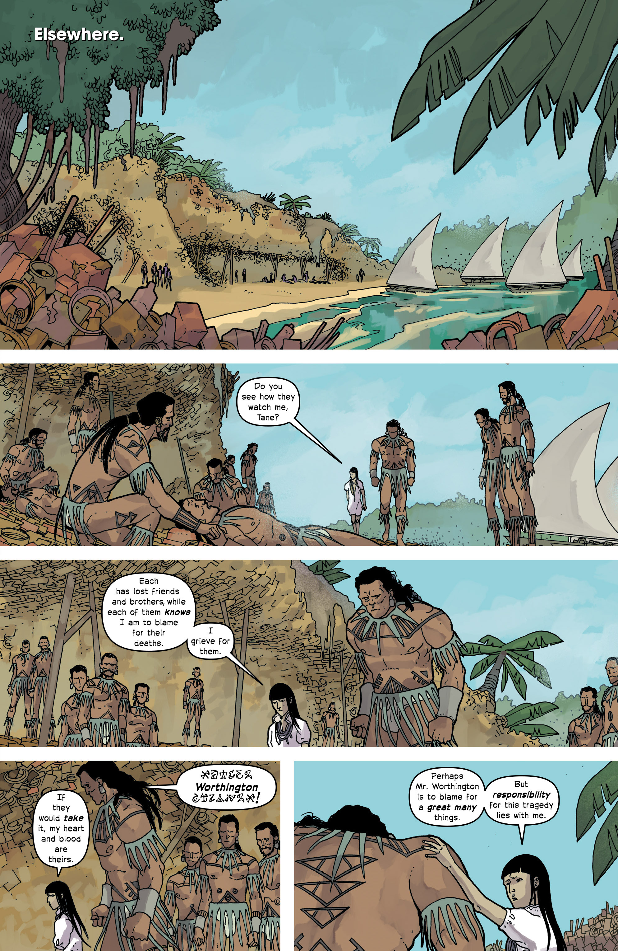 Read online Great Pacific comic -  Issue #16 - 19