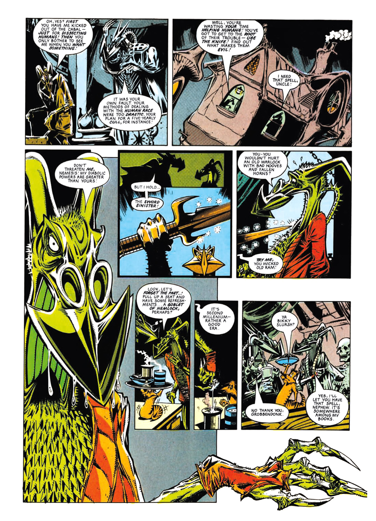 Read online Nemesis The Warlock comic -  Issue # TPB Deviant Edition - 49