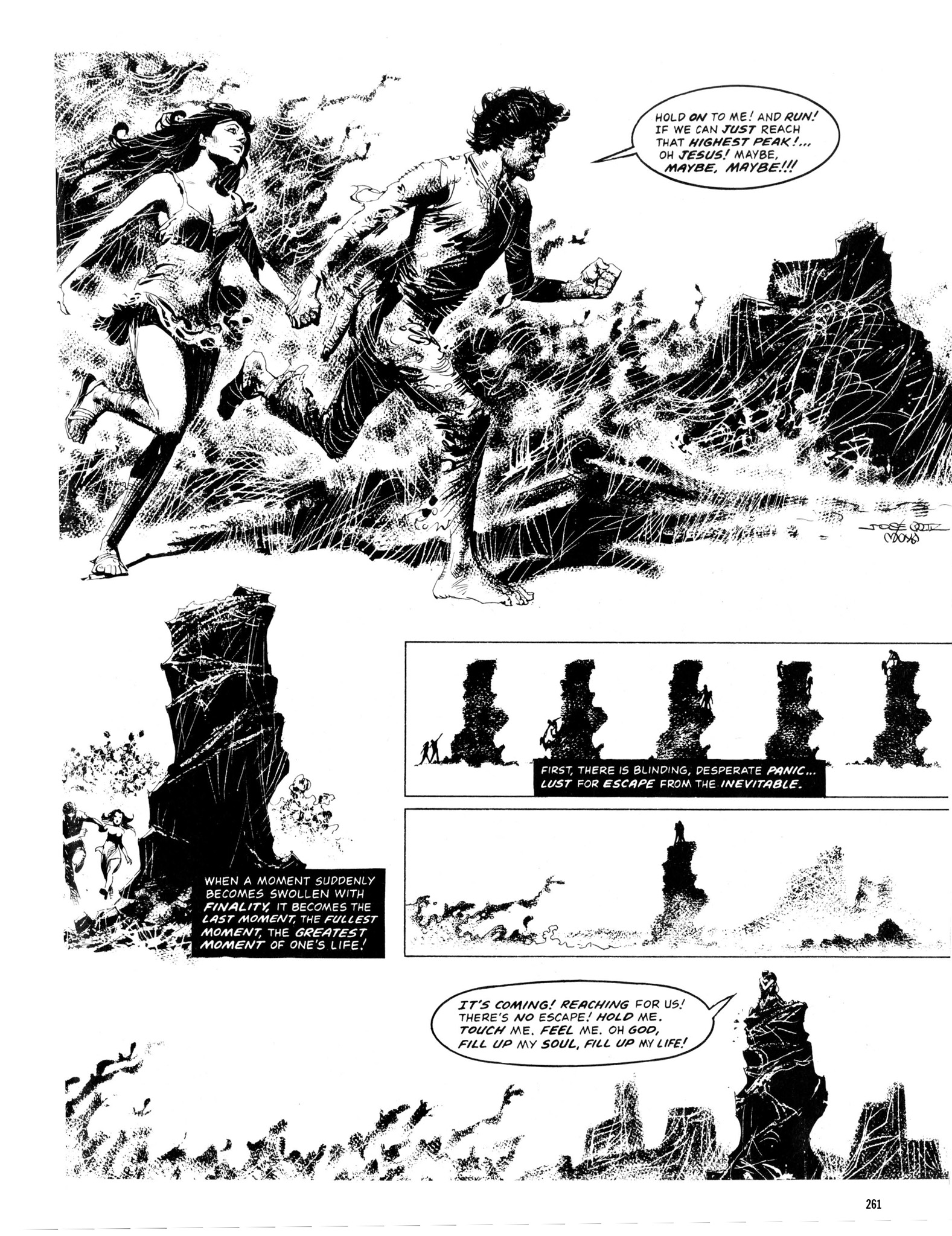 Read online Eerie Archives comic -  Issue # TPB 13 - 262