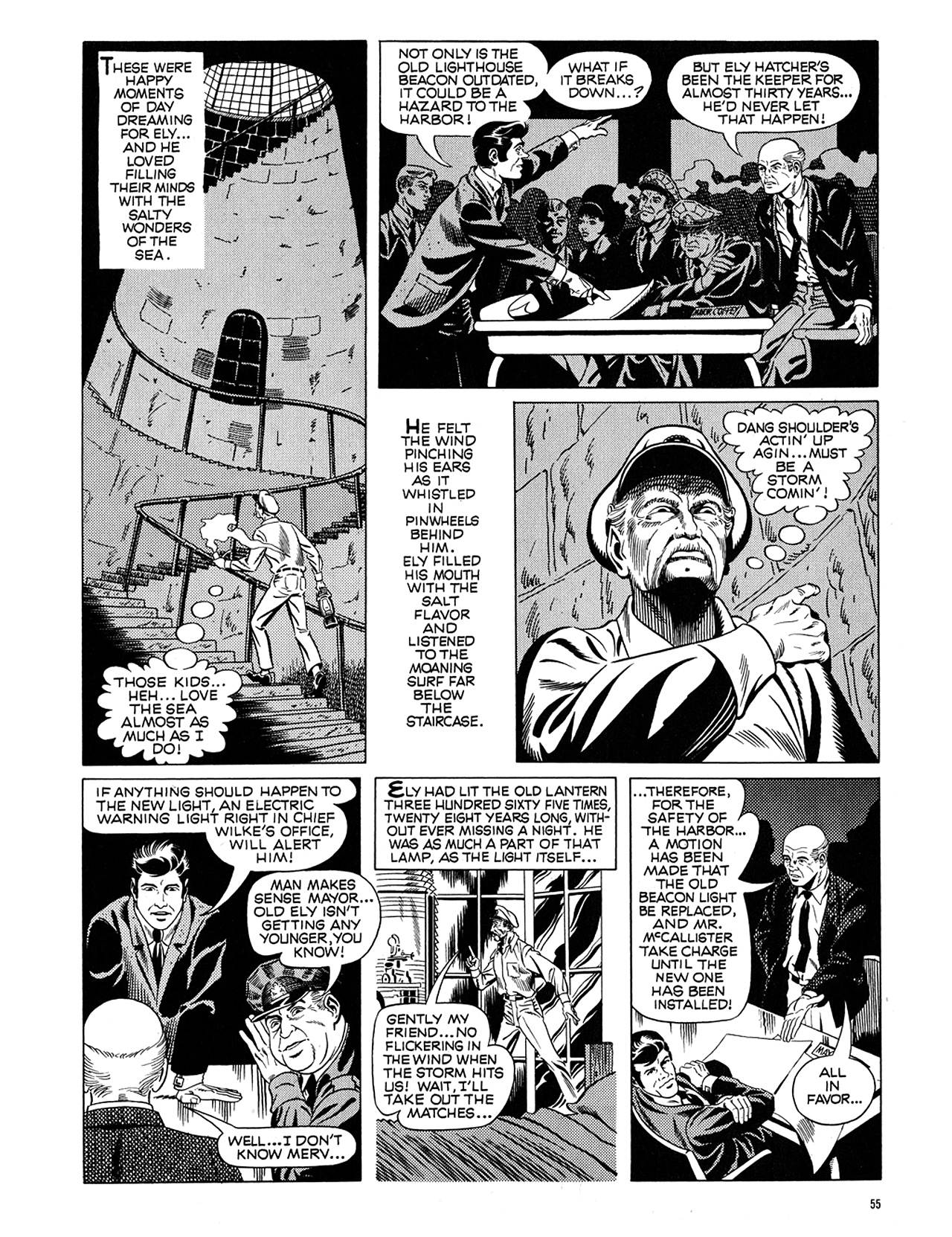 Read online Eerie Archives comic -  Issue # TPB 5 - 56