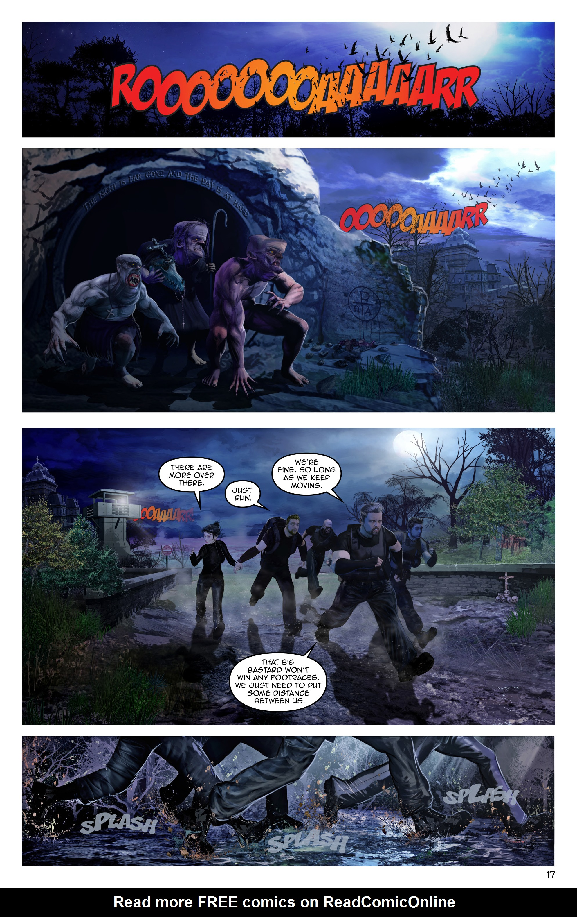 Read online Escape from Jesus Island comic -  Issue #3 - 17