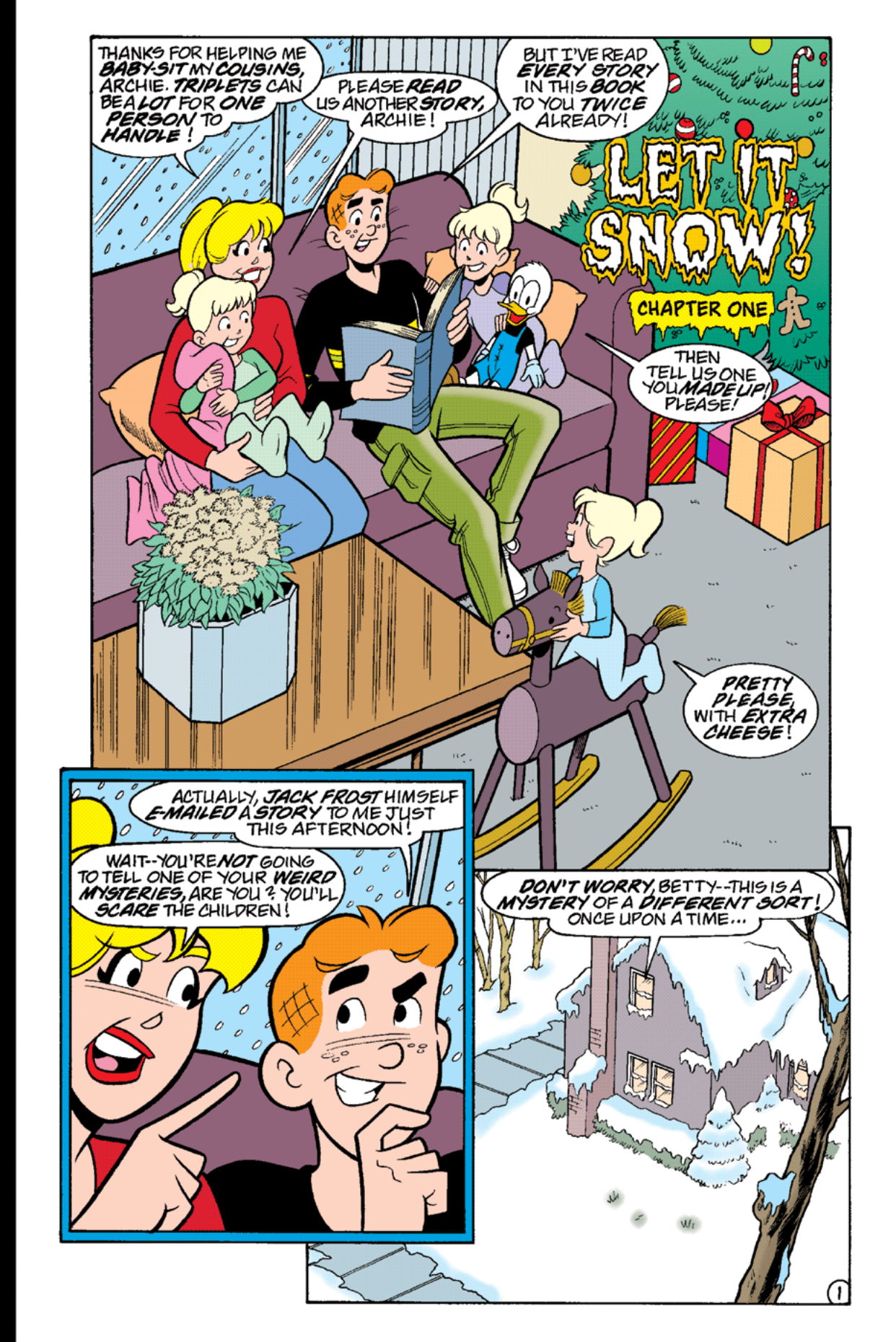 Read online Archie's Weird Mysteries comic -  Issue #18 - 15