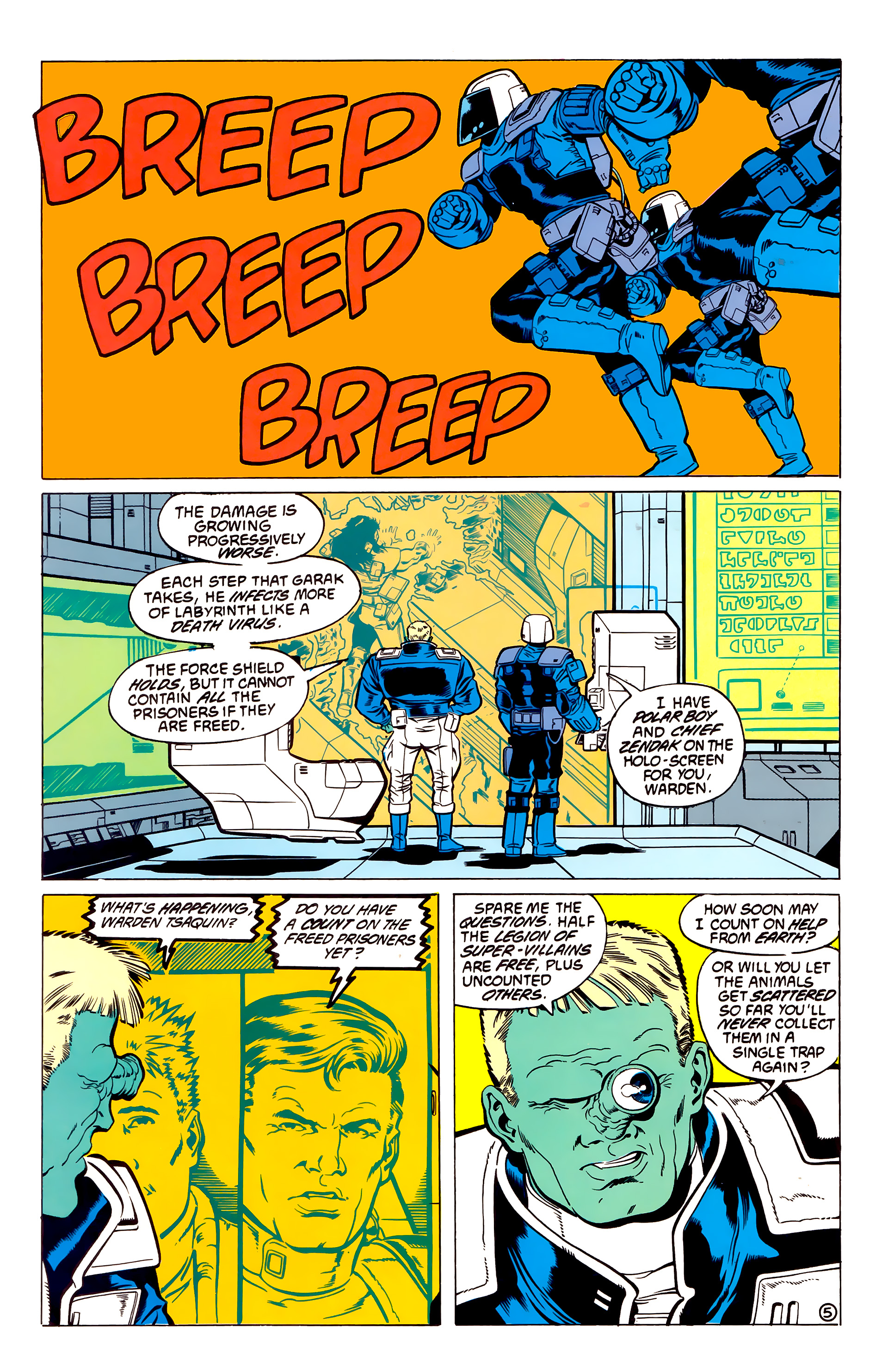 Legion of Super-Heroes (1984) 54 Page 5