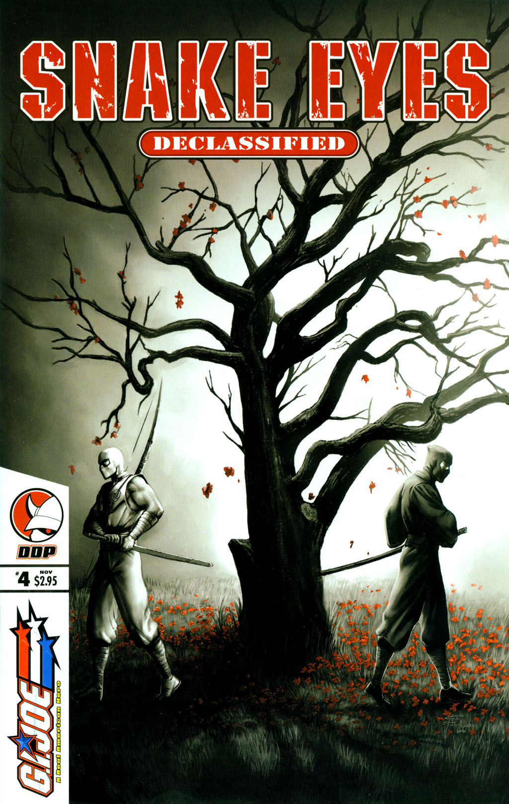 Read online Snake Eyes: Declassified comic -  Issue #4 - 1