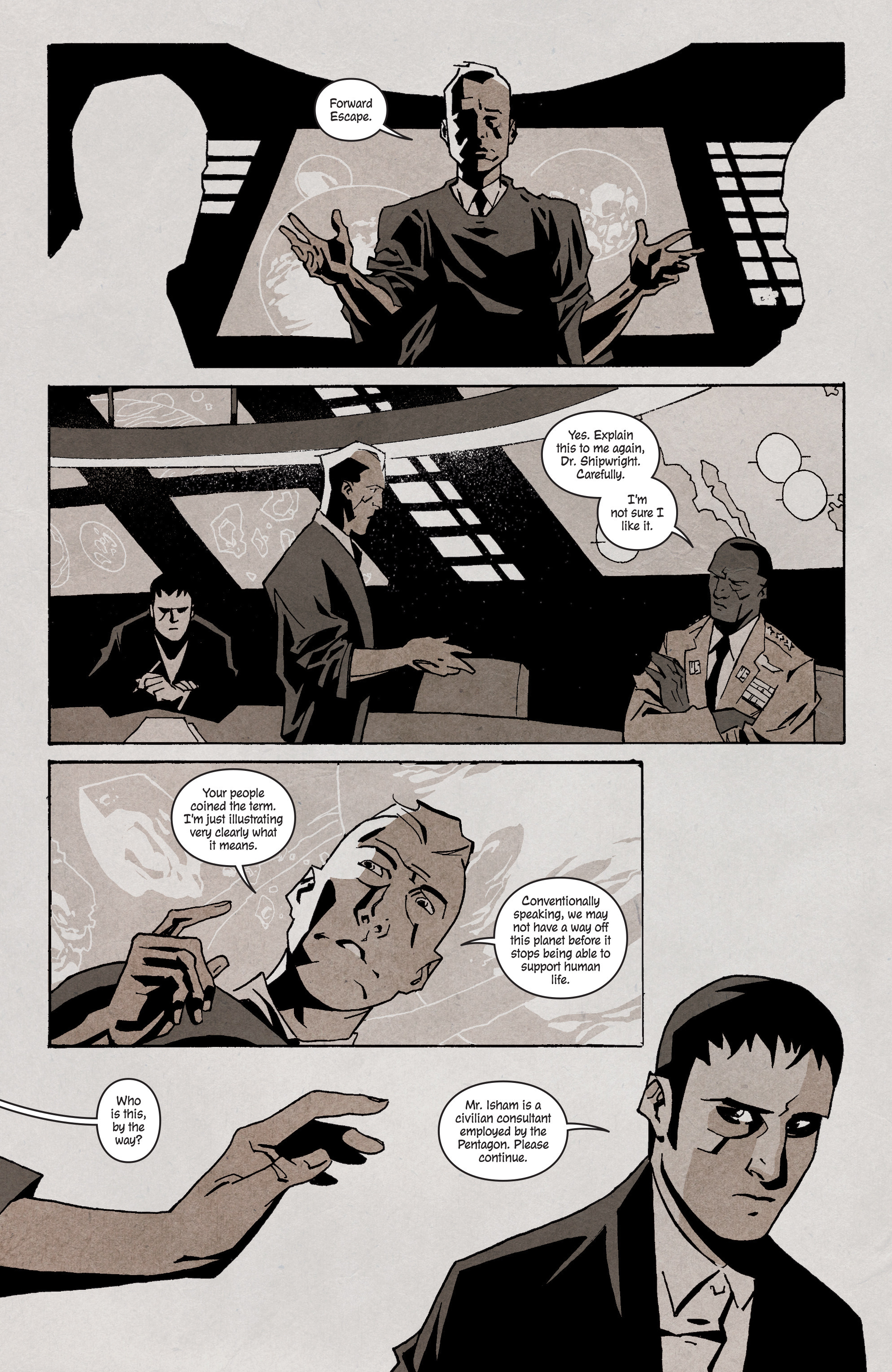 Read online Shipwreck comic -  Issue #3 - 19