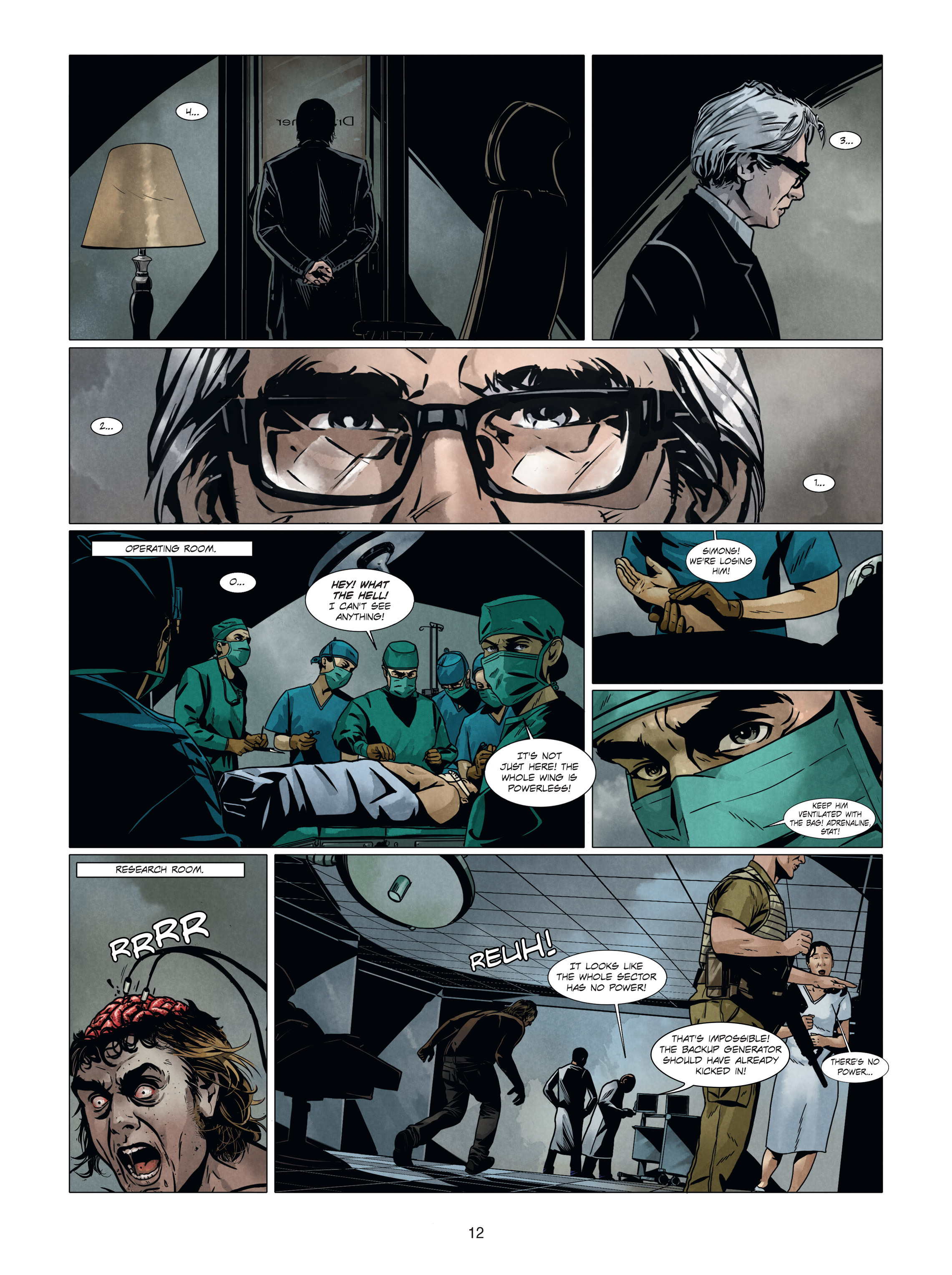 Read online Alice Matheson comic -  Issue #4 - 12