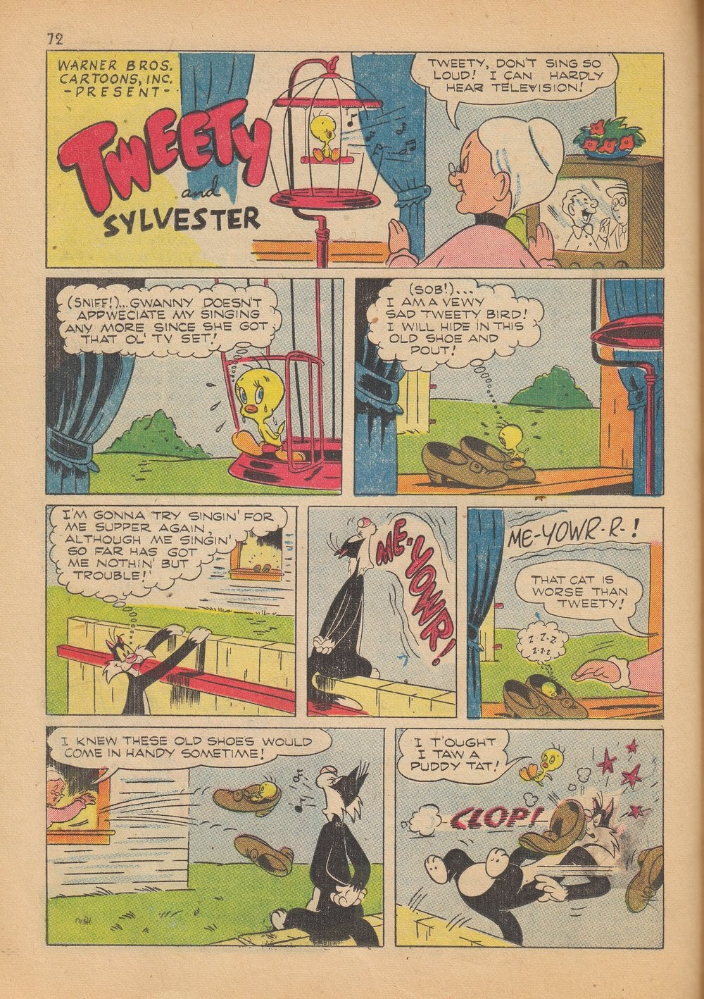 Bugs Bunny's Christmas Funnies issue TPB 4 - Page 74