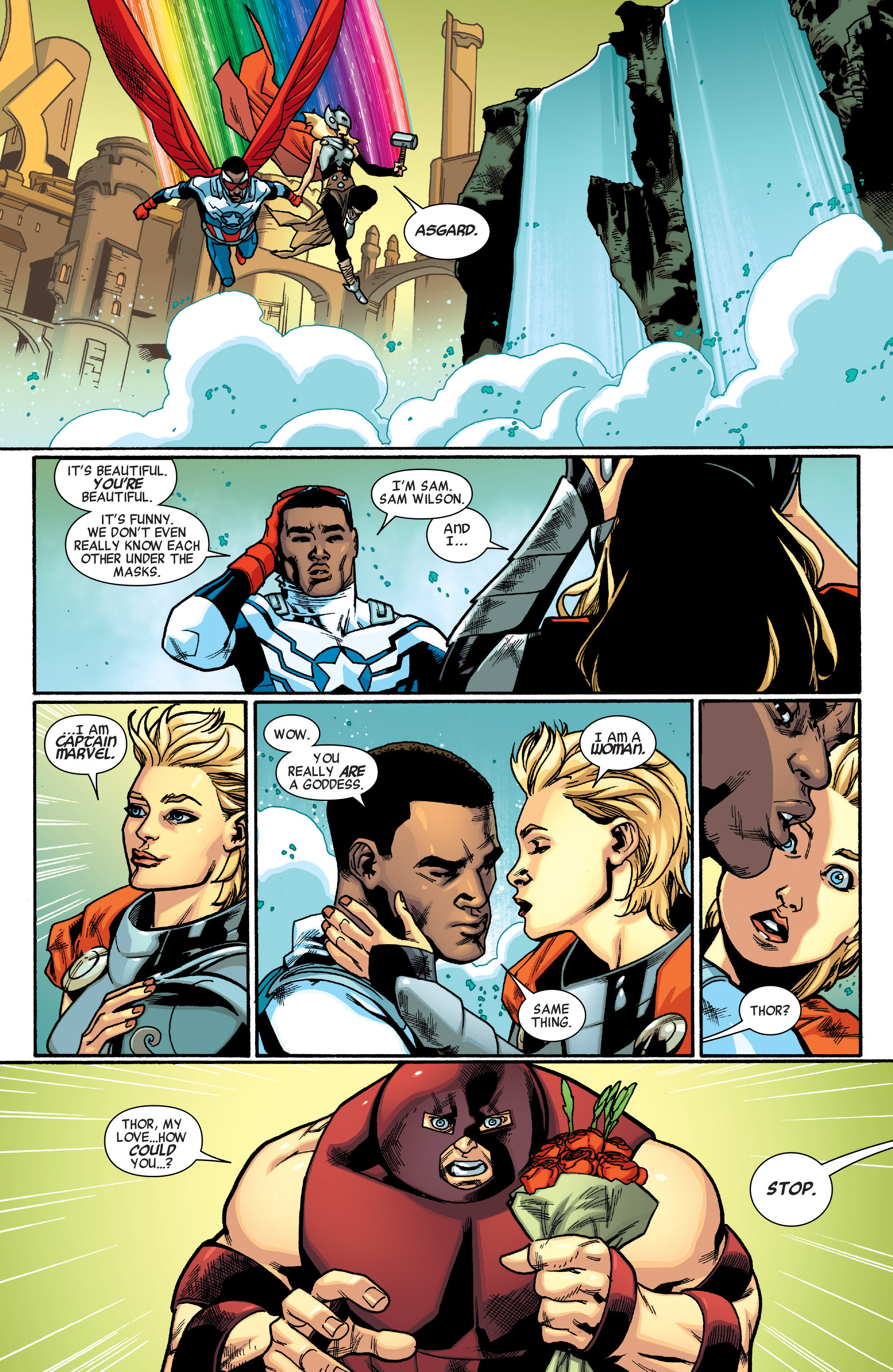 Read online All-New, All-Different Avengers comic -  Issue #5 - 5