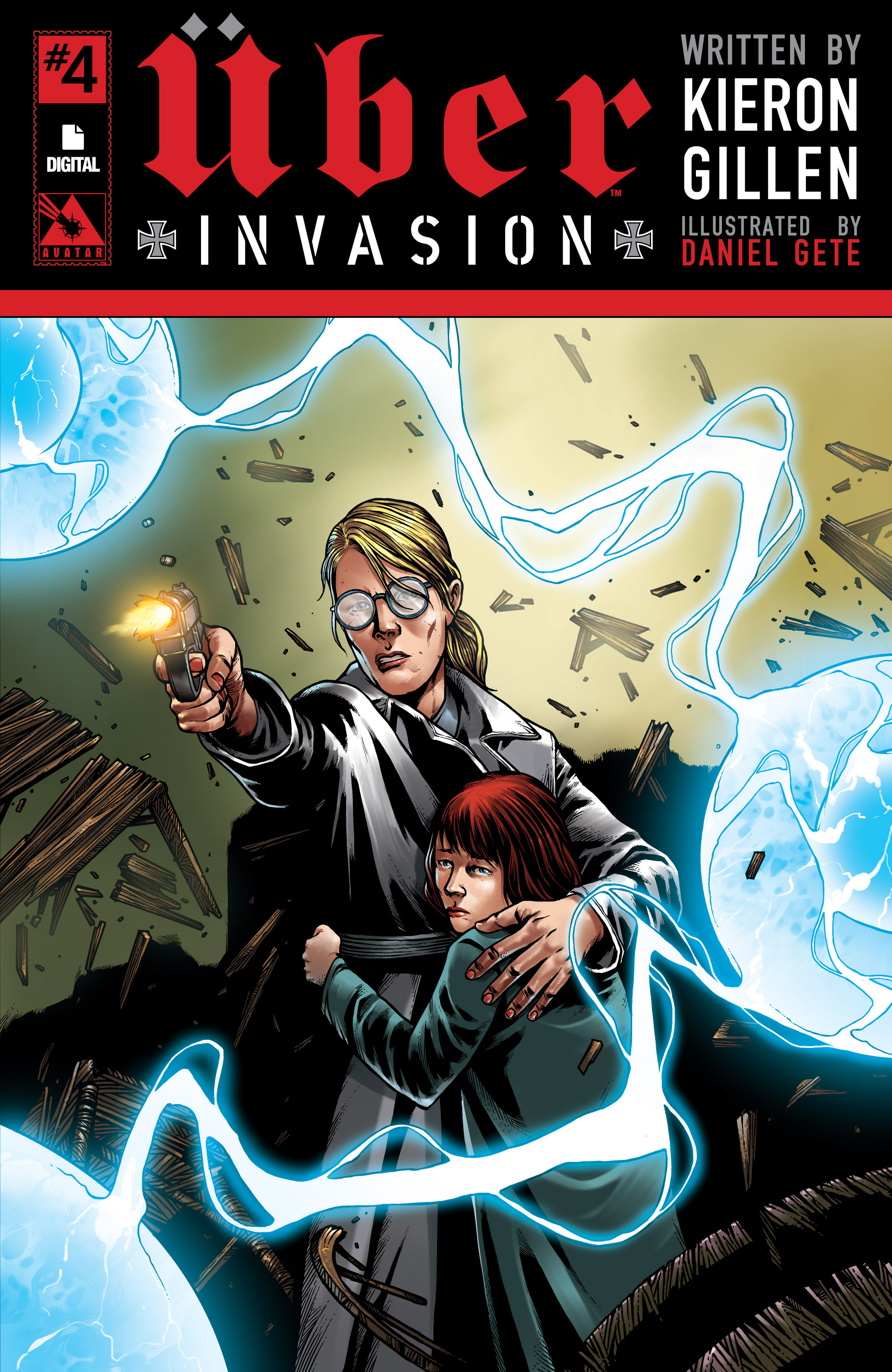 Read online Uber: Invasion comic -  Issue #4 - 1