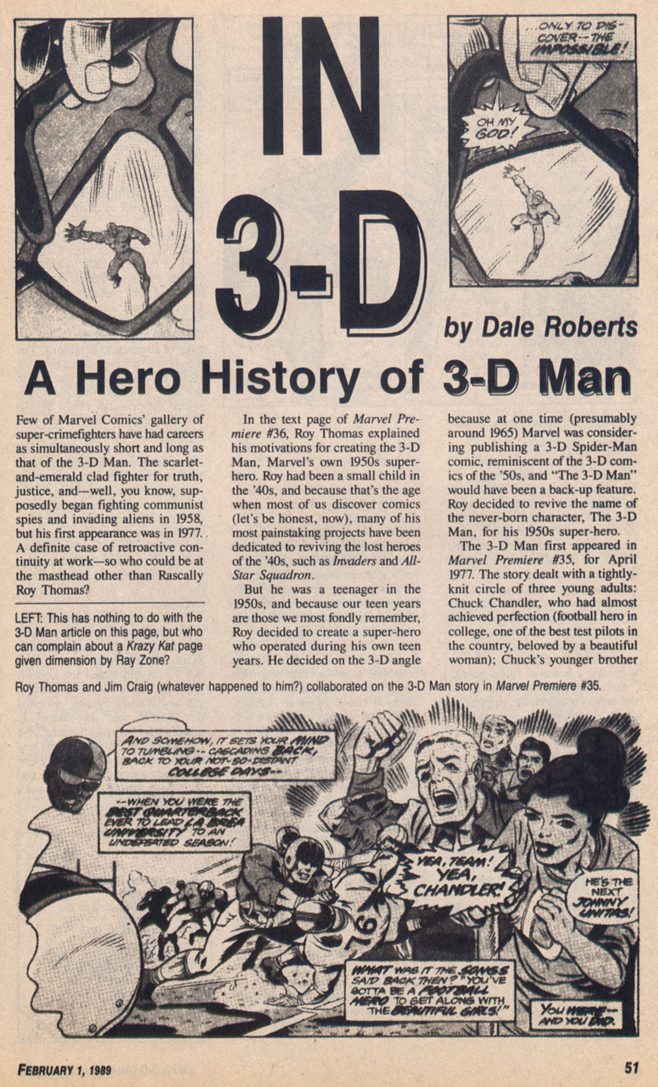 Read online Amazing Heroes comic -  Issue #158 - 52