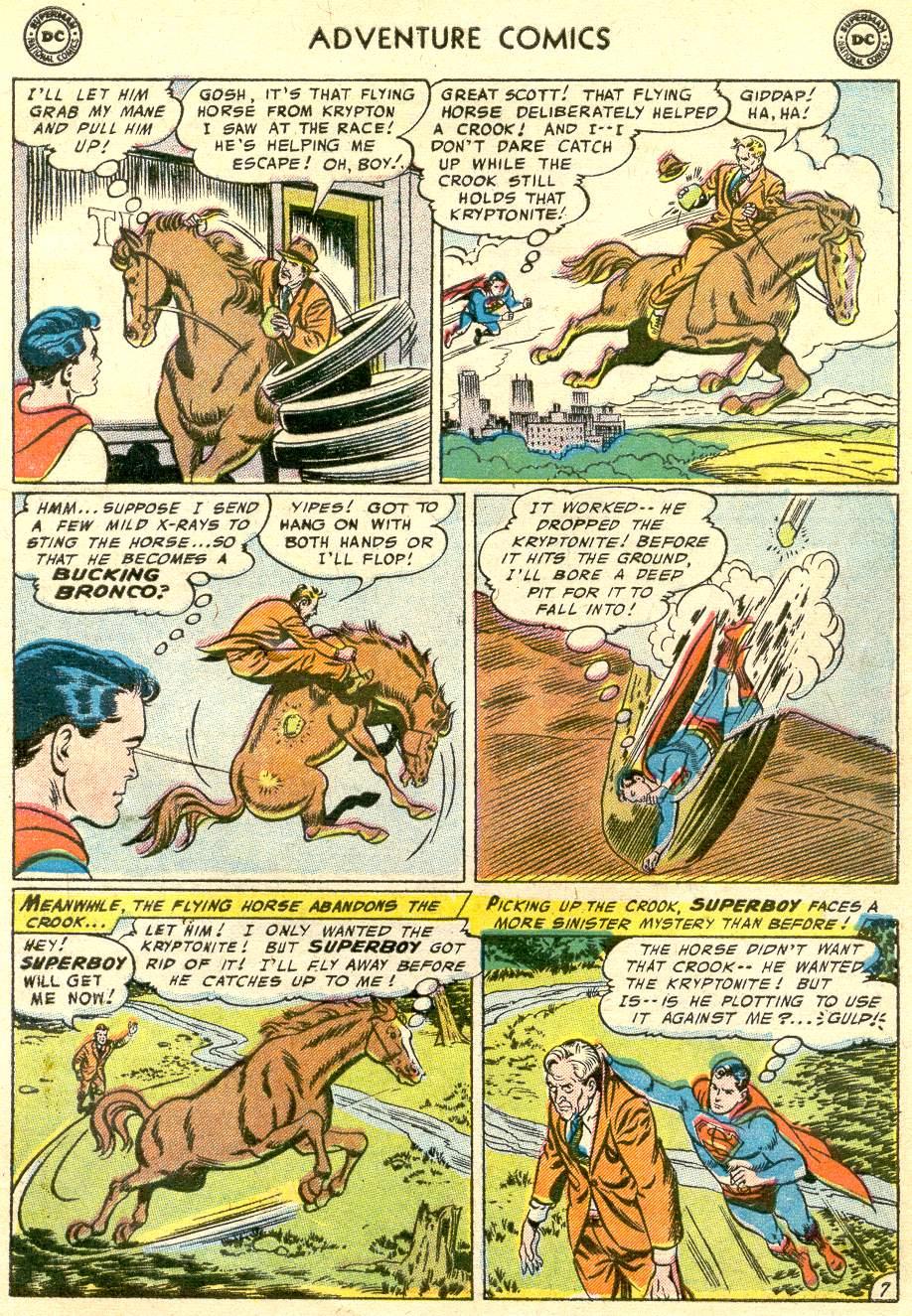 Read online Adventure Comics (1938) comic -  Issue #230 - 9
