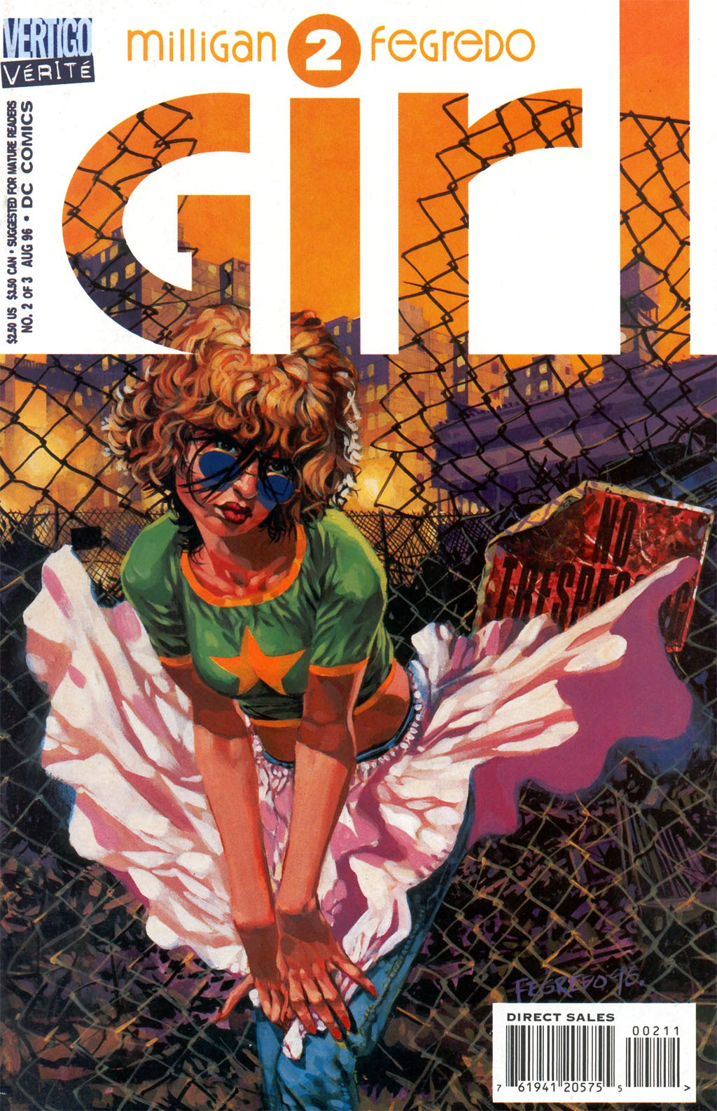 Read online Girl comic -  Issue #2 - 1