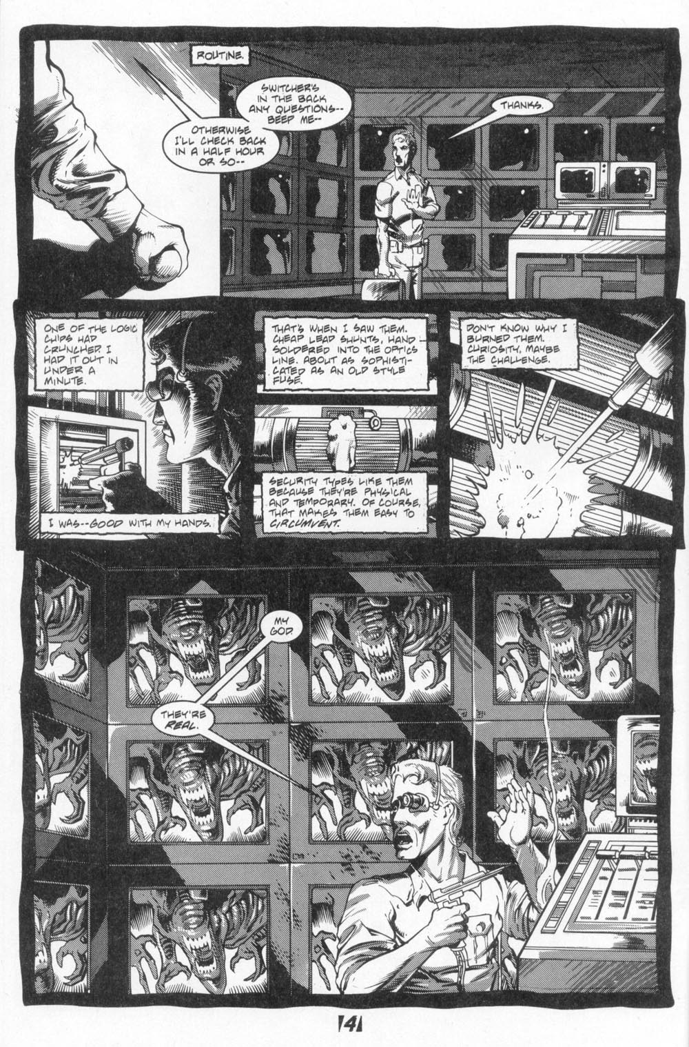 Read online Aliens (1988) comic -  Issue #4 - 6