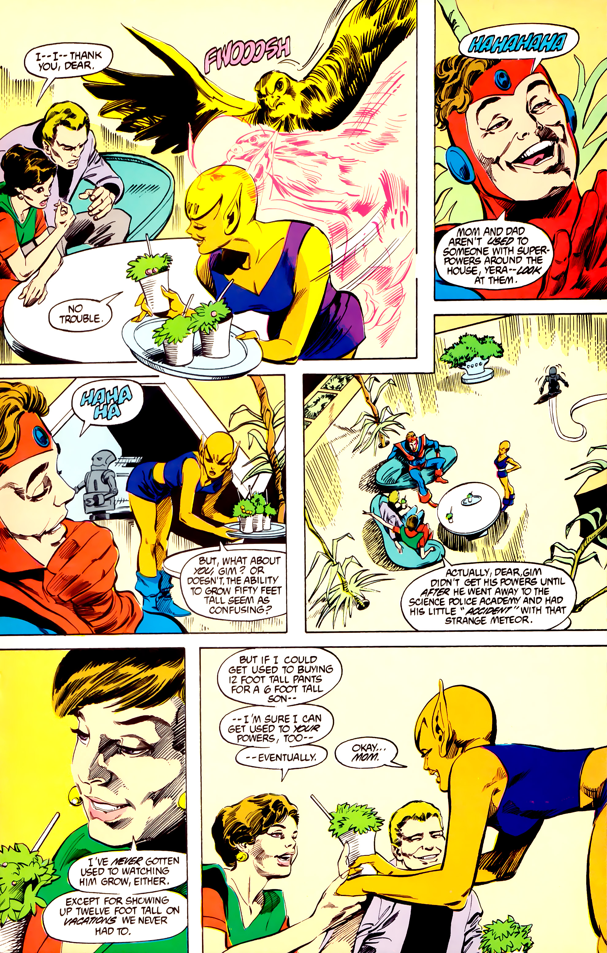 Legion of Super-Heroes (1984) 27 Page 22