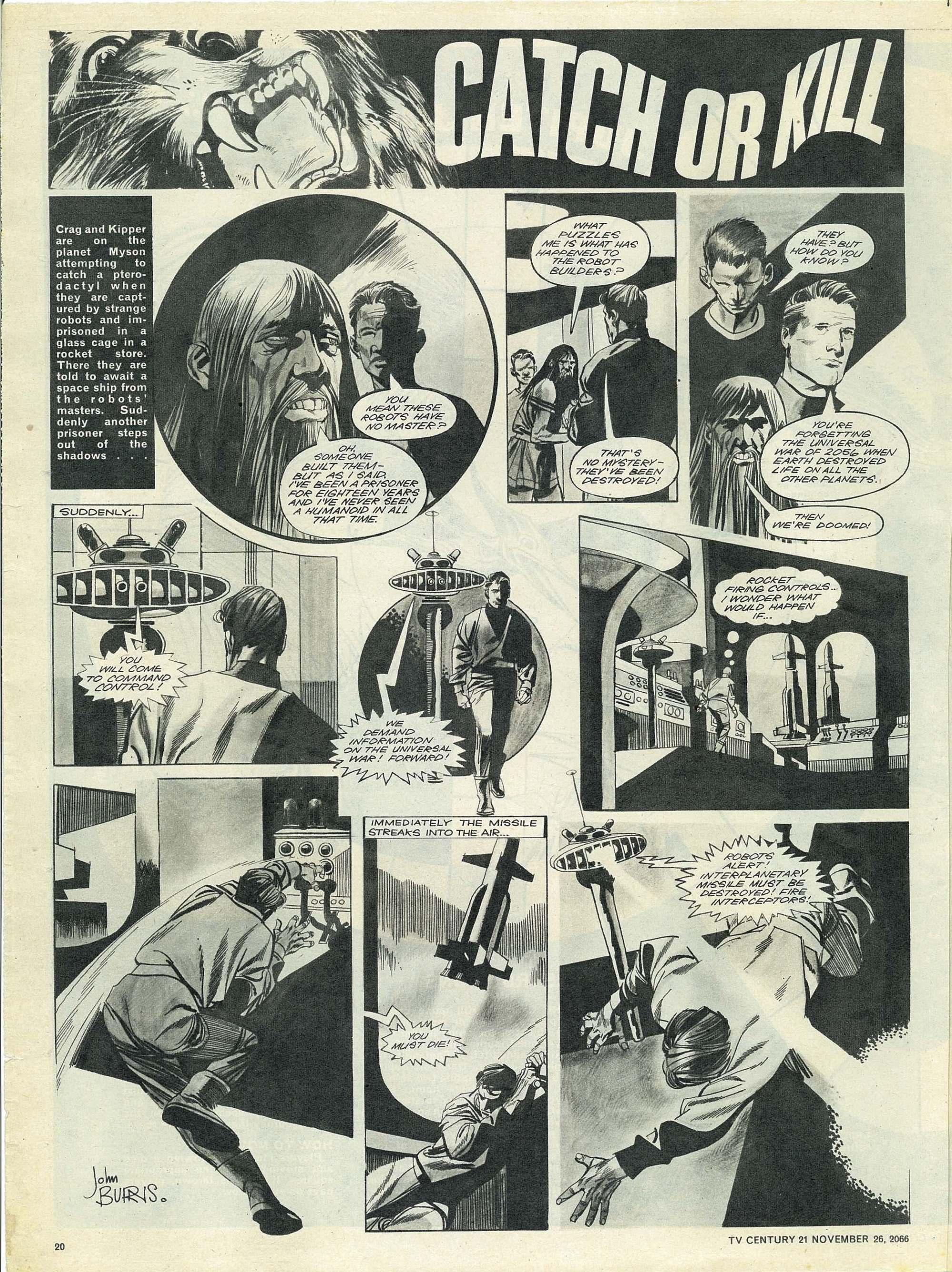 Read online TV Century 21 (TV 21) comic -  Issue #97 - 19