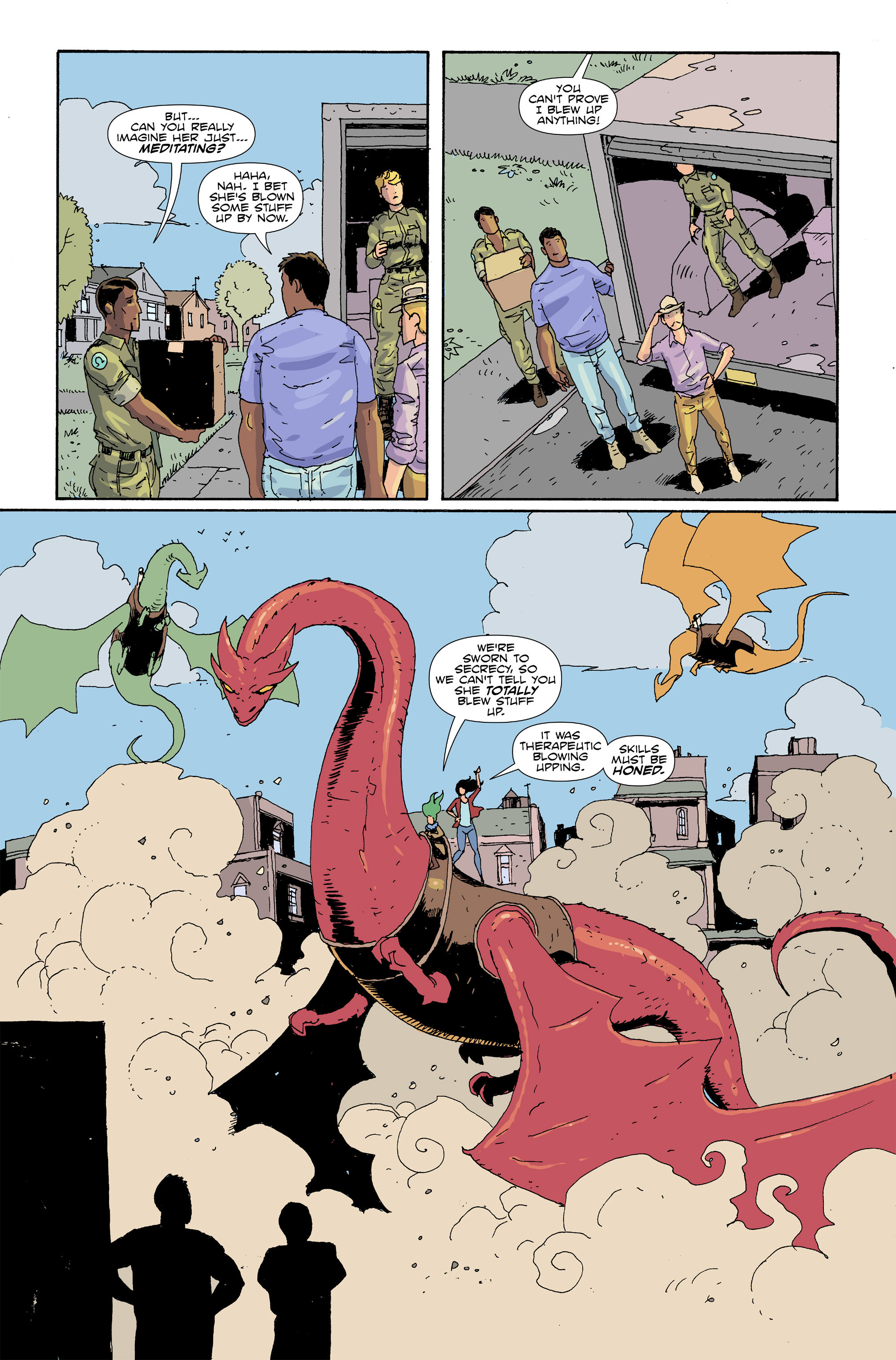 Read online Amelia Cole Versus The End of Everything comic -  Issue #30 - 5