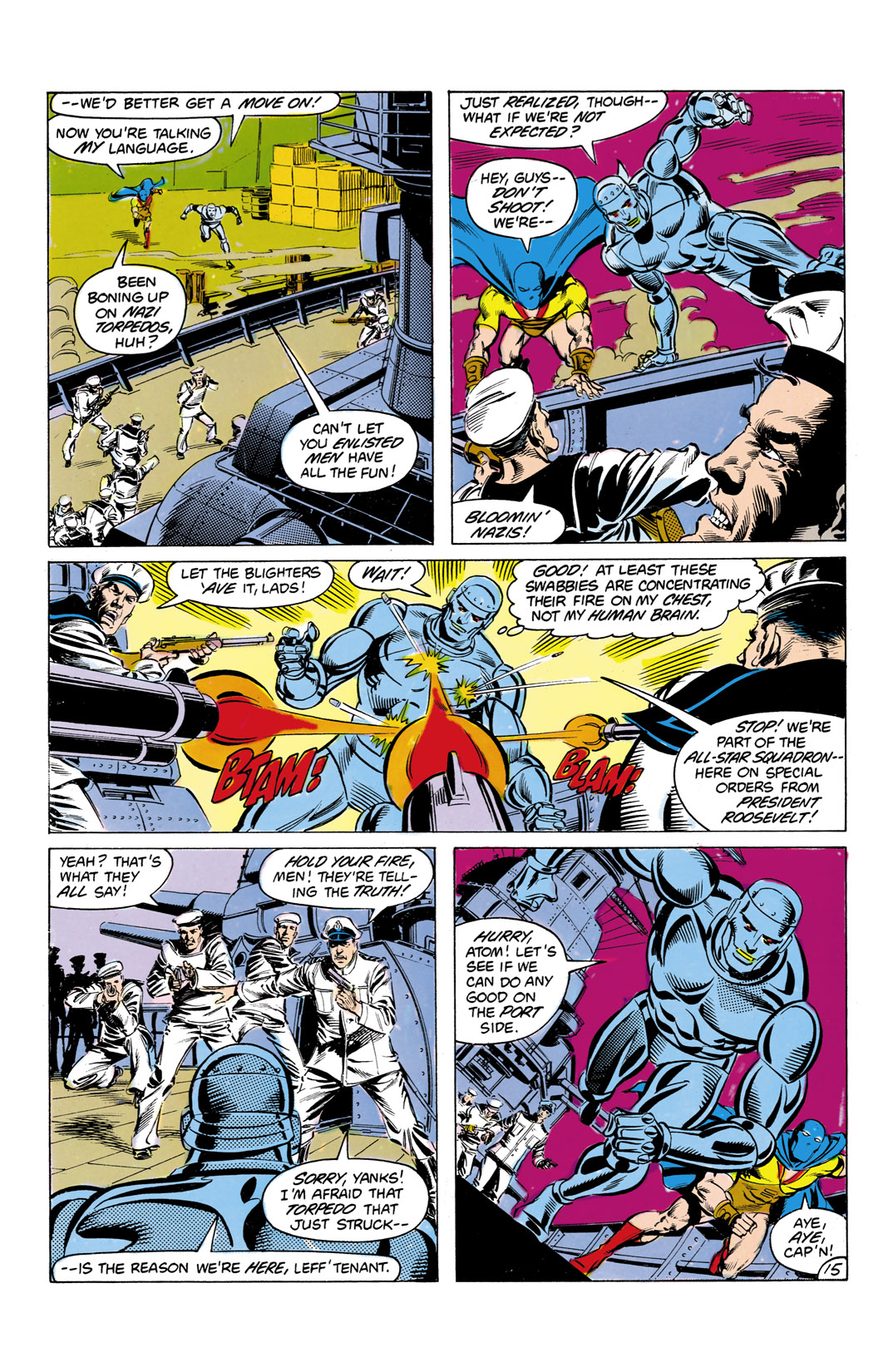 Read online All-Star Squadron comic -  Issue #7 - 16