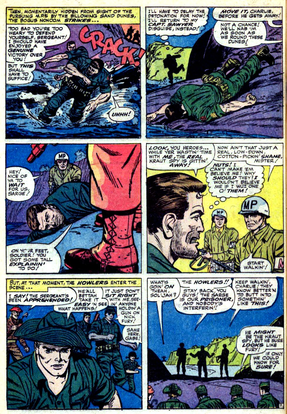 Read online Sgt. Fury comic -  Issue #25 - 16