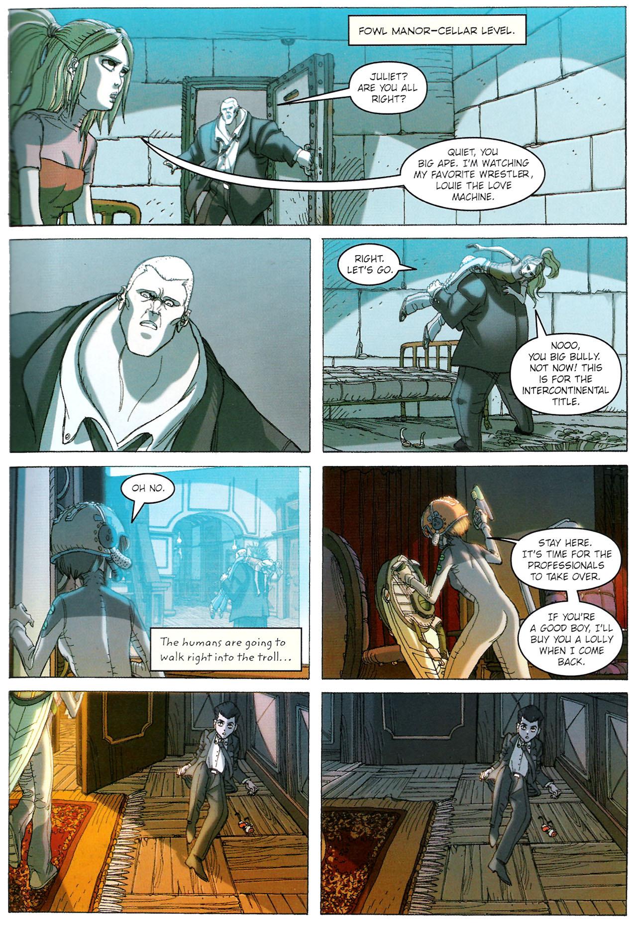 Read online Artemis Fowl: The Graphic Novel comic -  Issue #Artemis Fowl: The Graphic Novel Full - 90