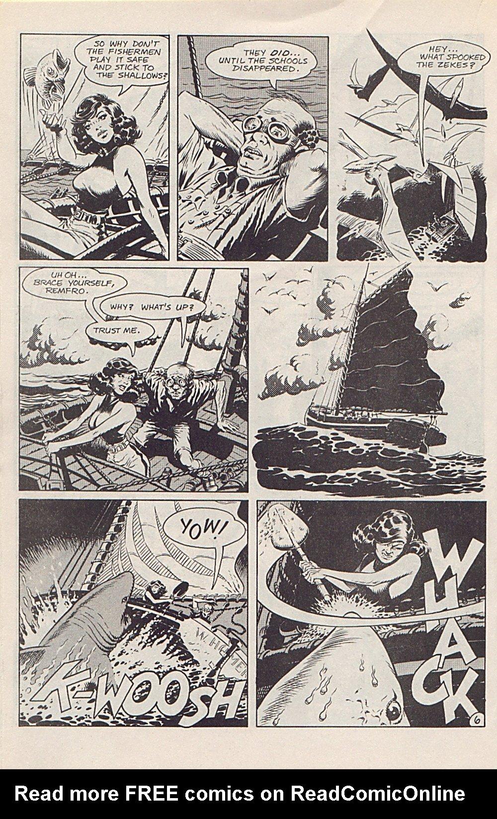 Read online Xenozoic Tales comic -  Issue #1 - 21